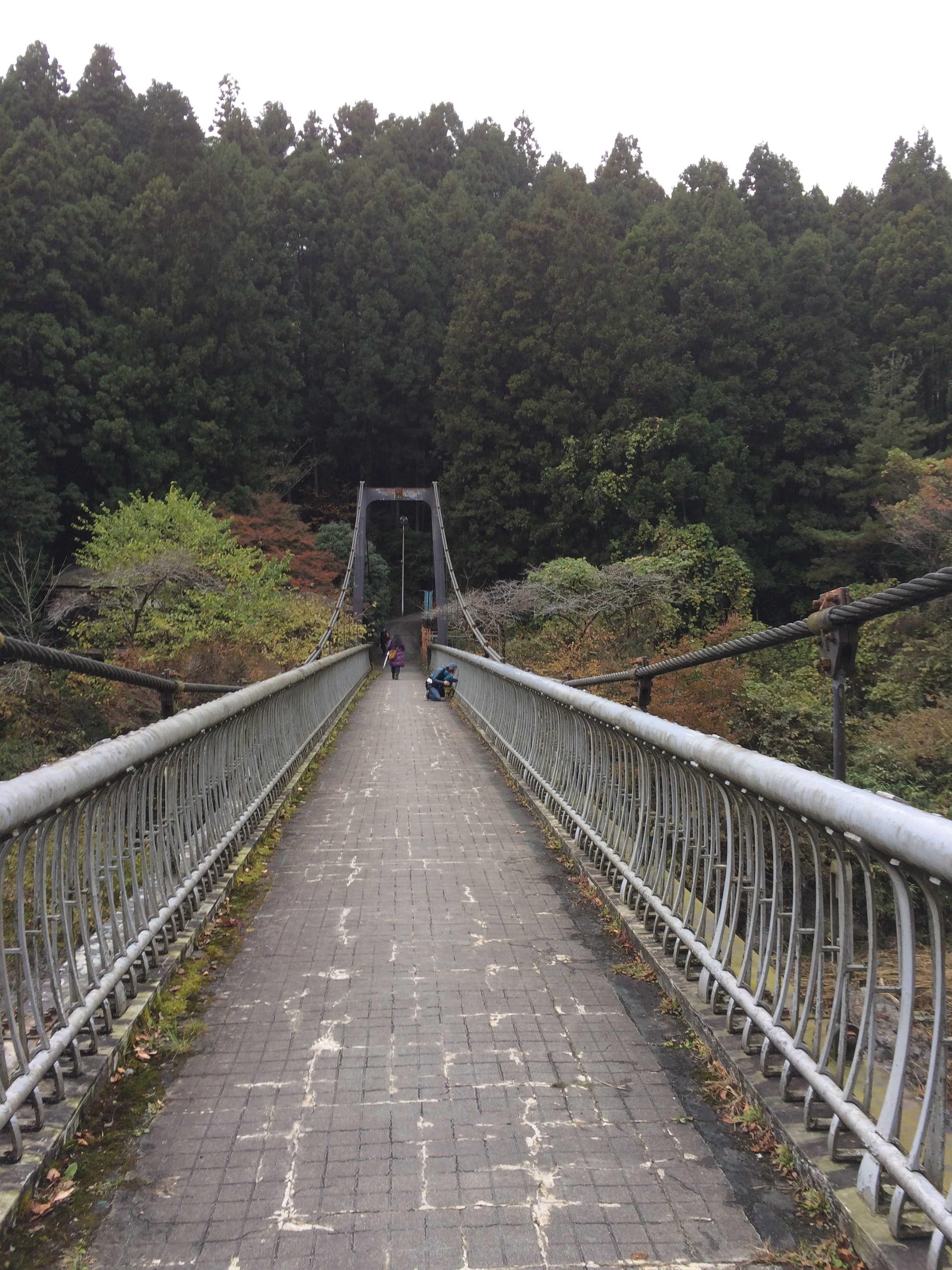 御岳渓谷遊歩道