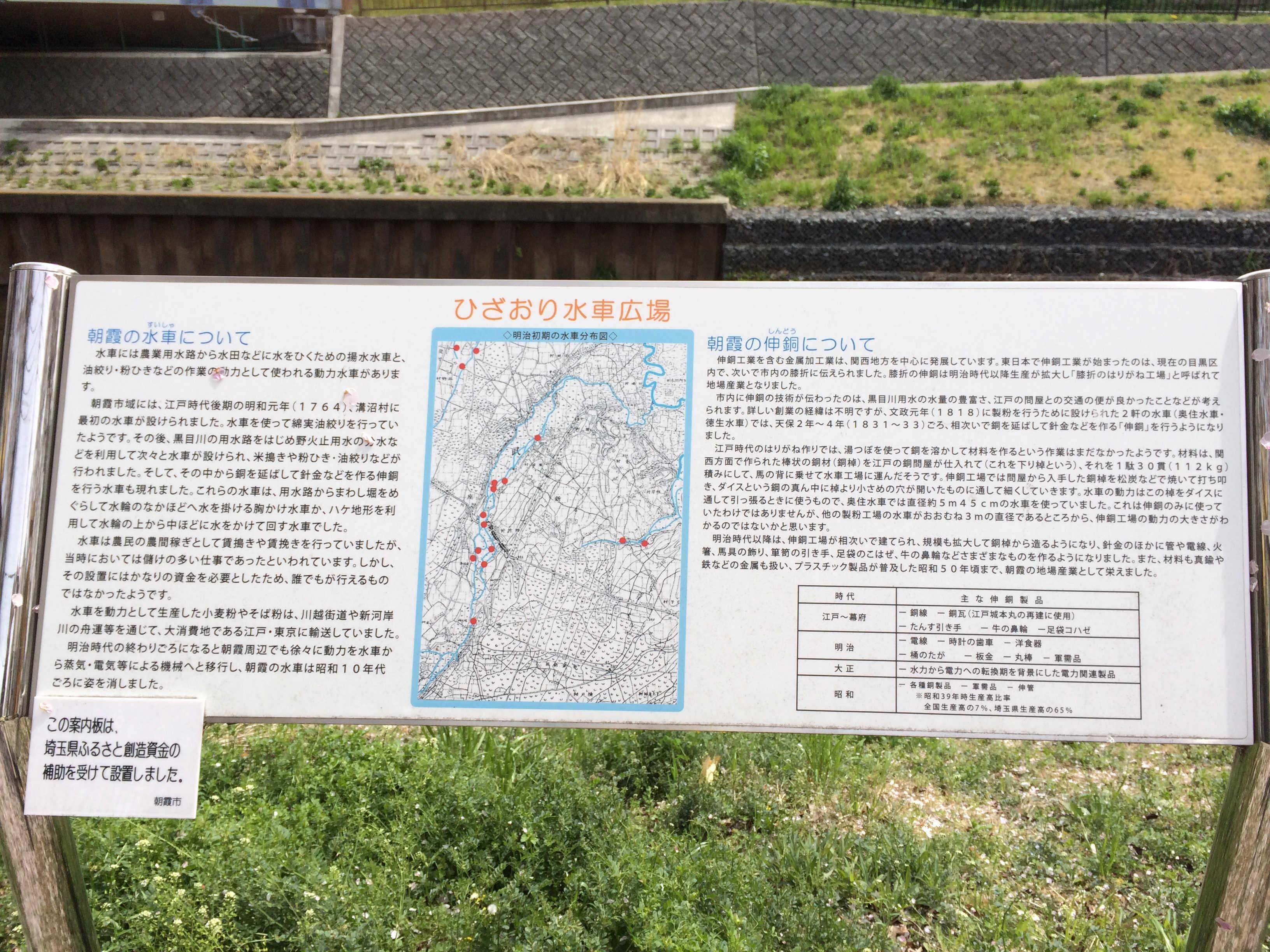 ひざおり水車広場
