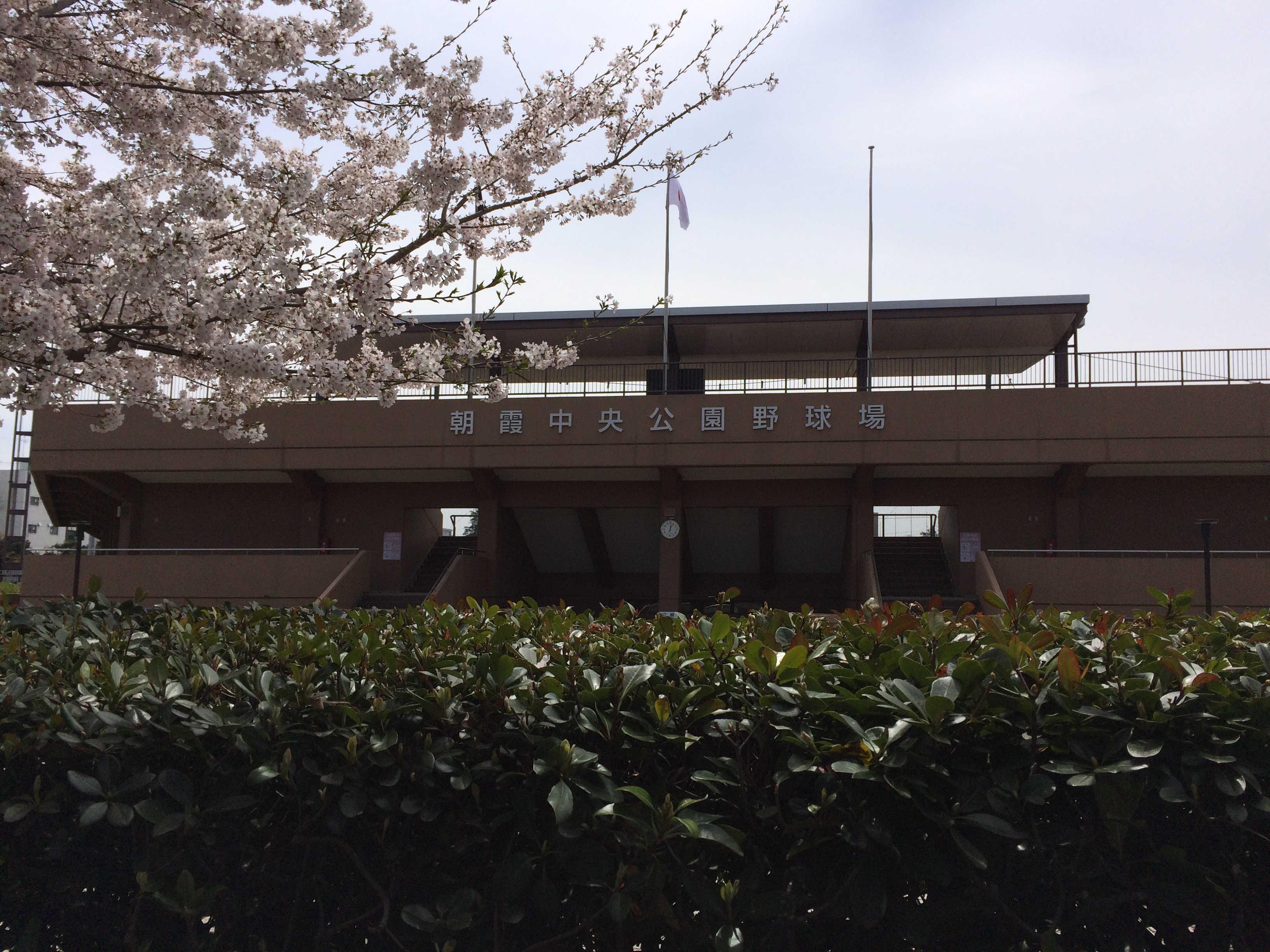 朝霞中央公園野球場