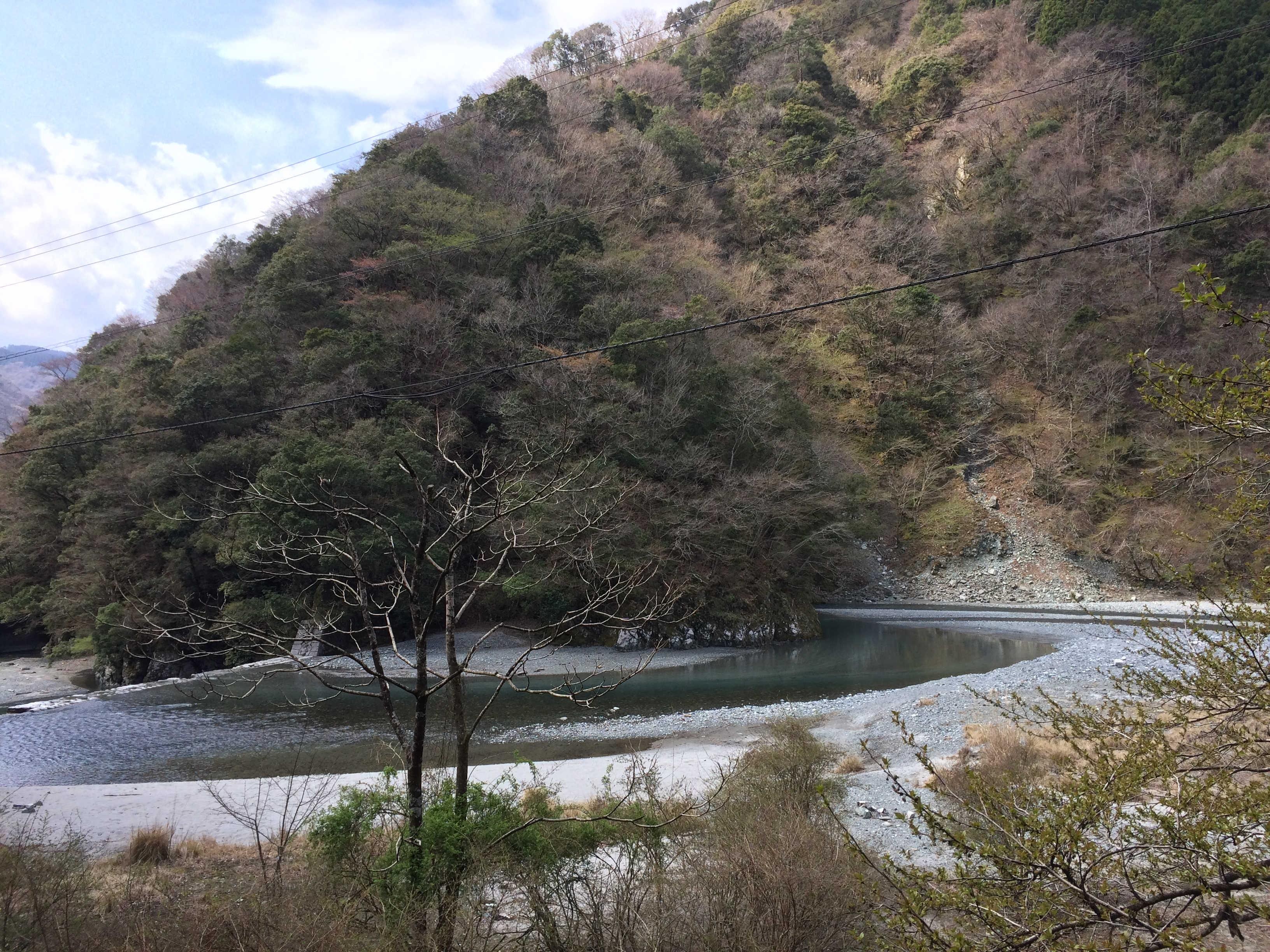 小川谷出合→ヤヒチ沢