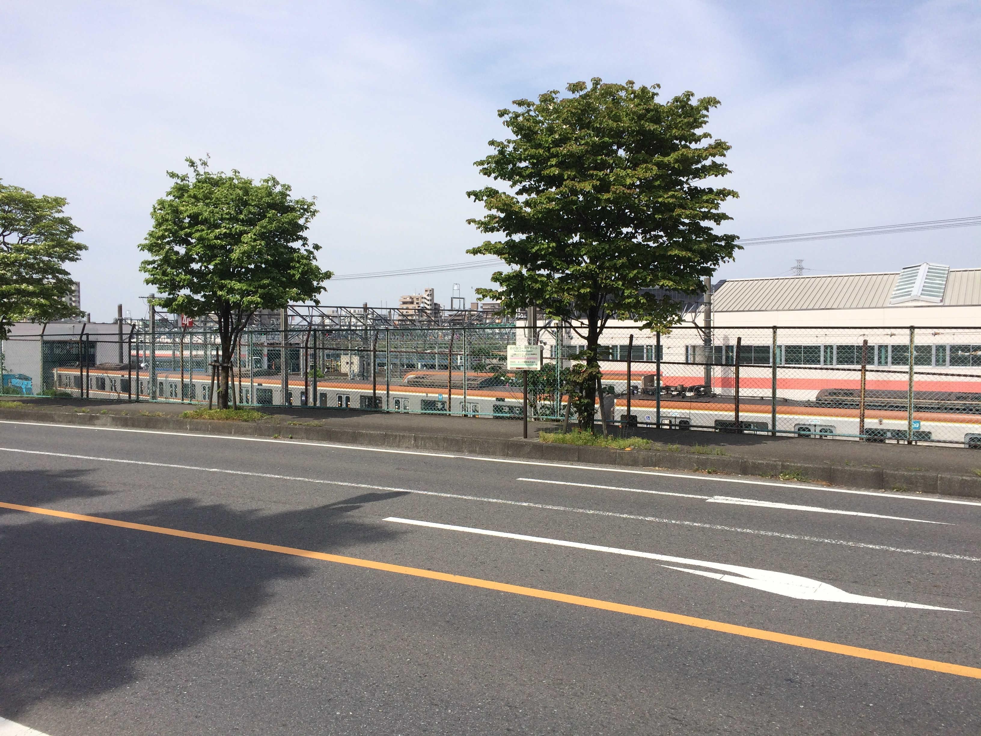 東京地下鉄和光車両基地