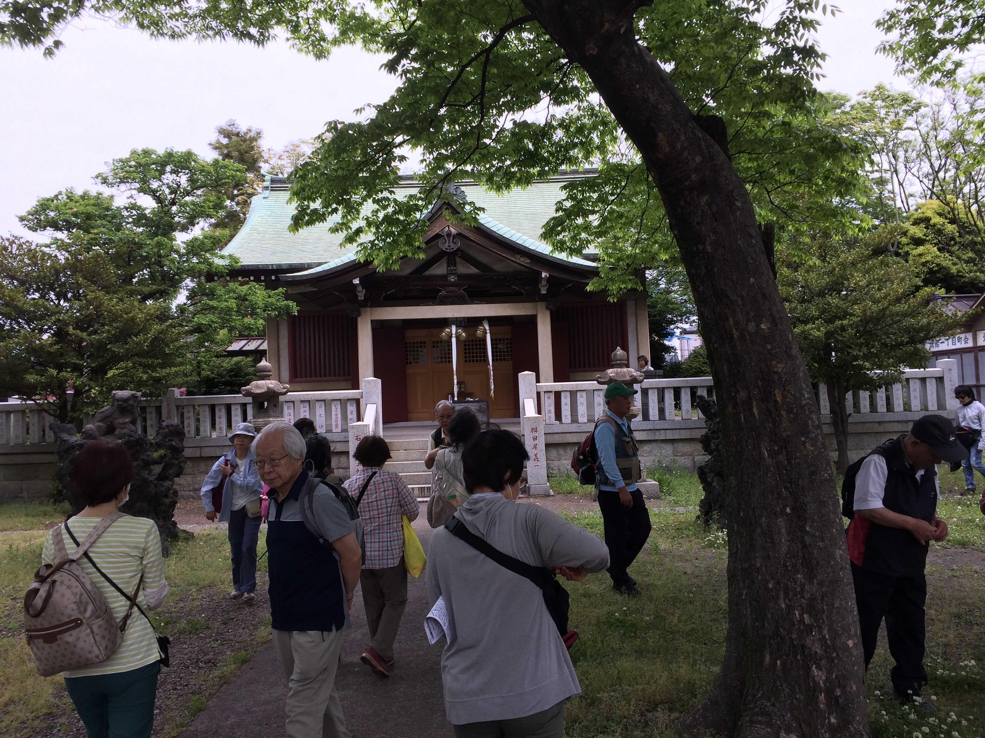 堀船白山神社