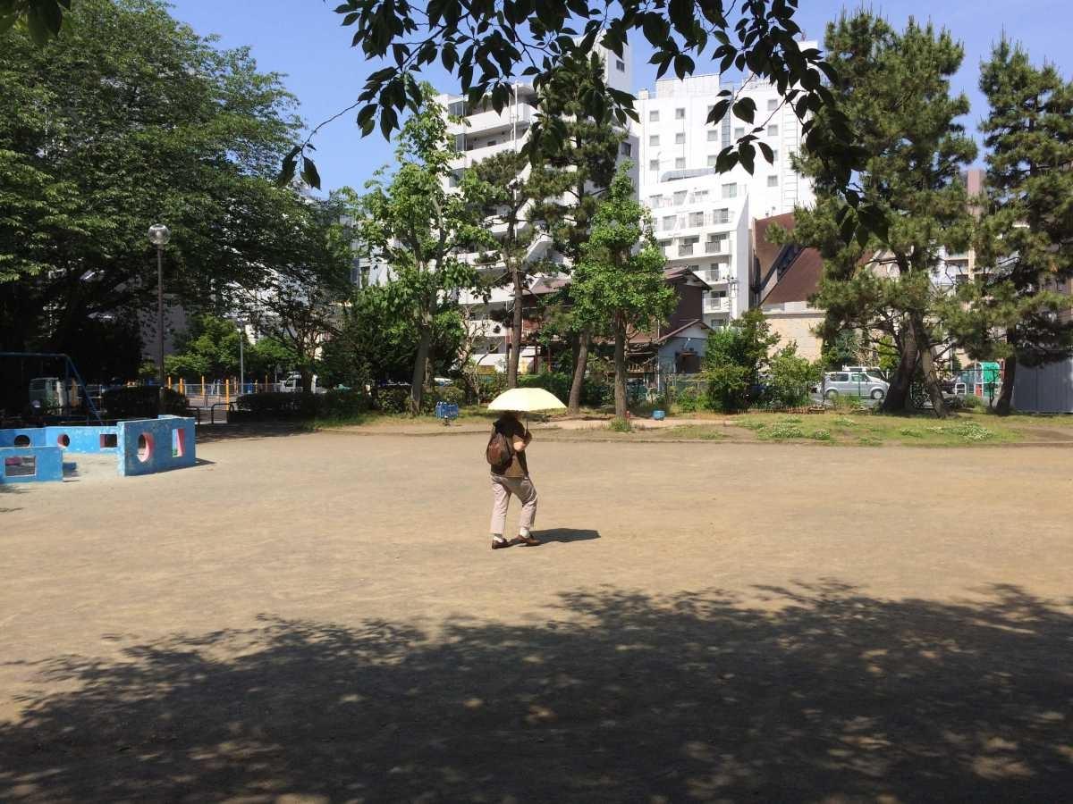 東奥田公園(スタート)