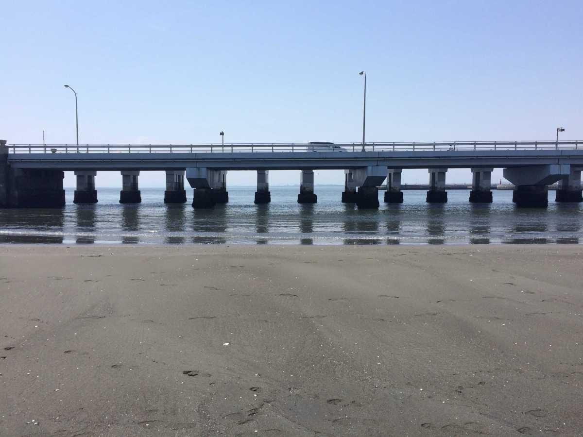 江の島のトンボロ