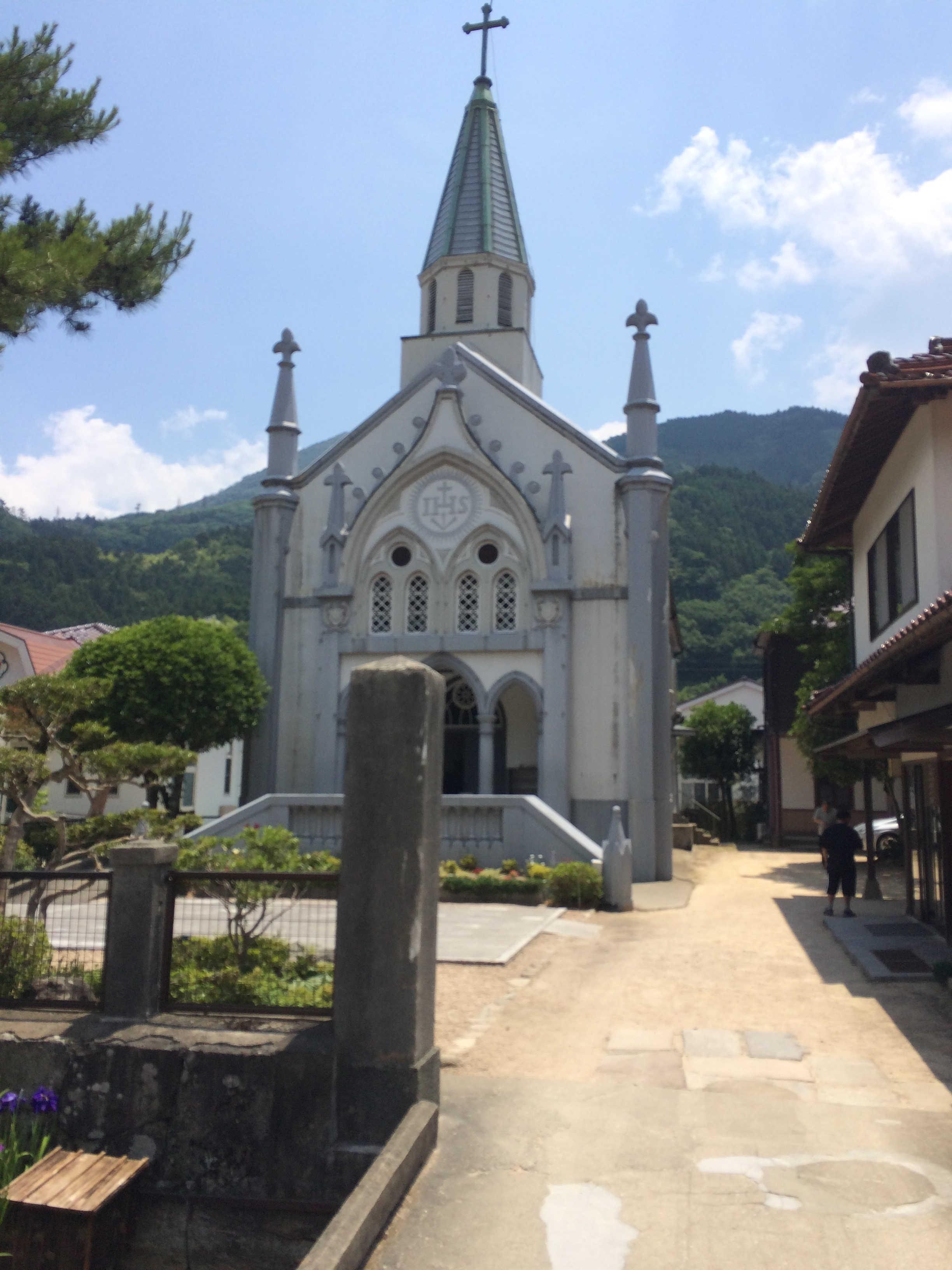 カトリック津和野教会(津和野・殿町通り36)