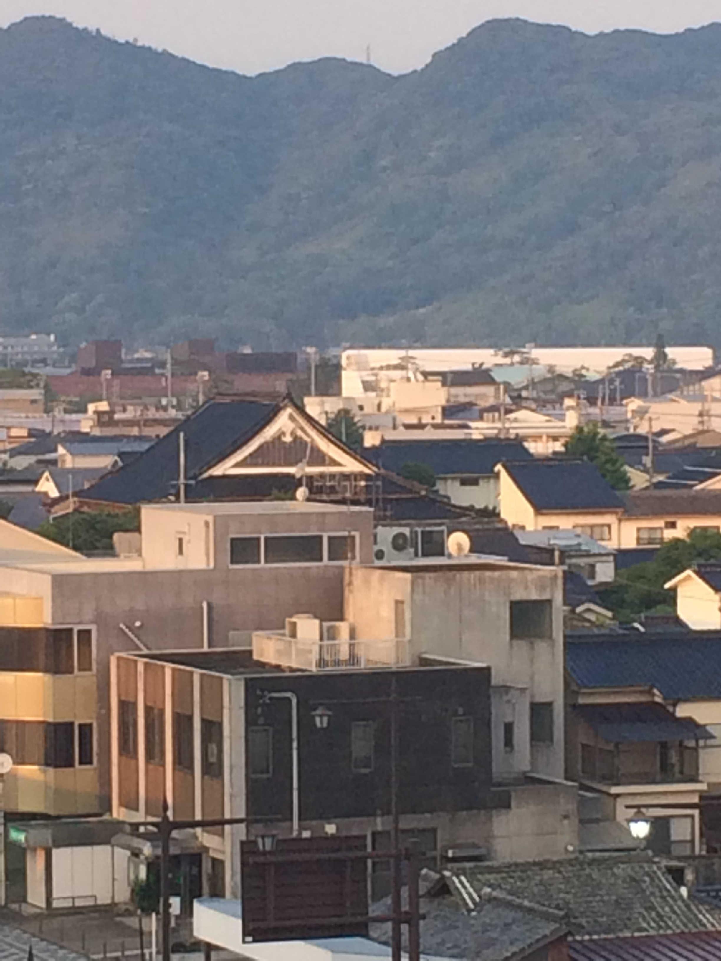 萩グランドホテル天空ホテルからの景観