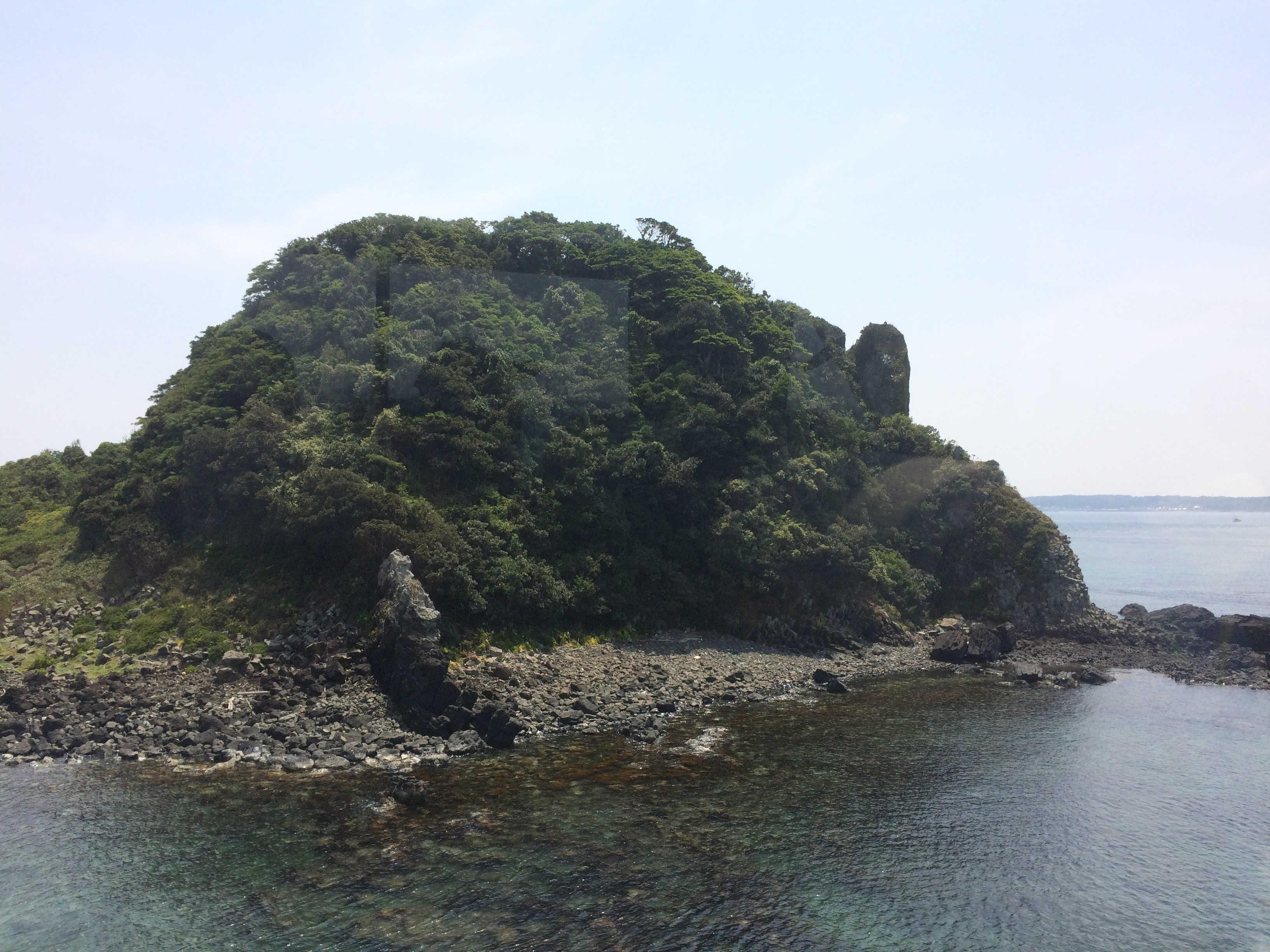 角島大橋からの景観