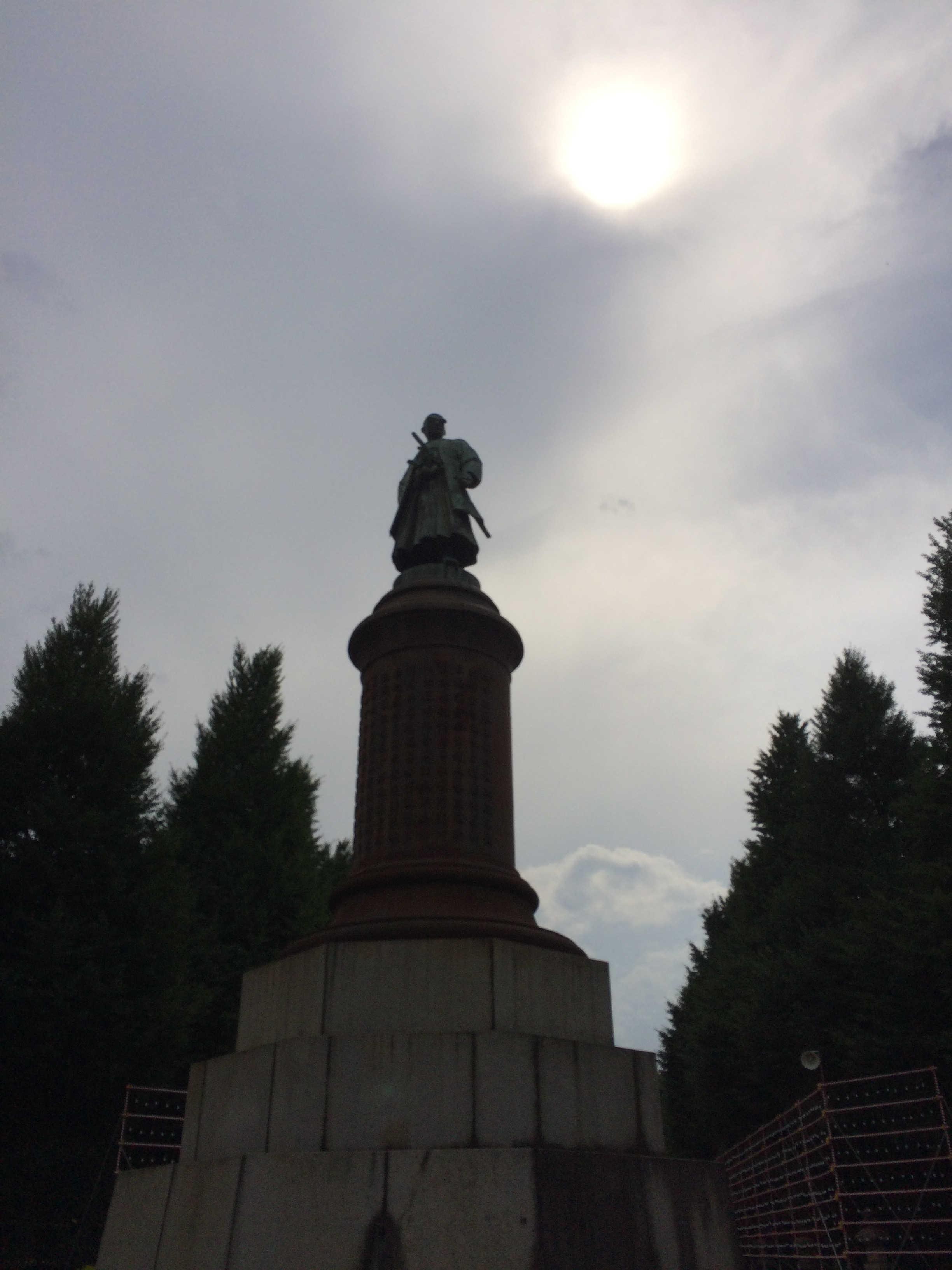靖国神社境内(大村益次郎銅像)