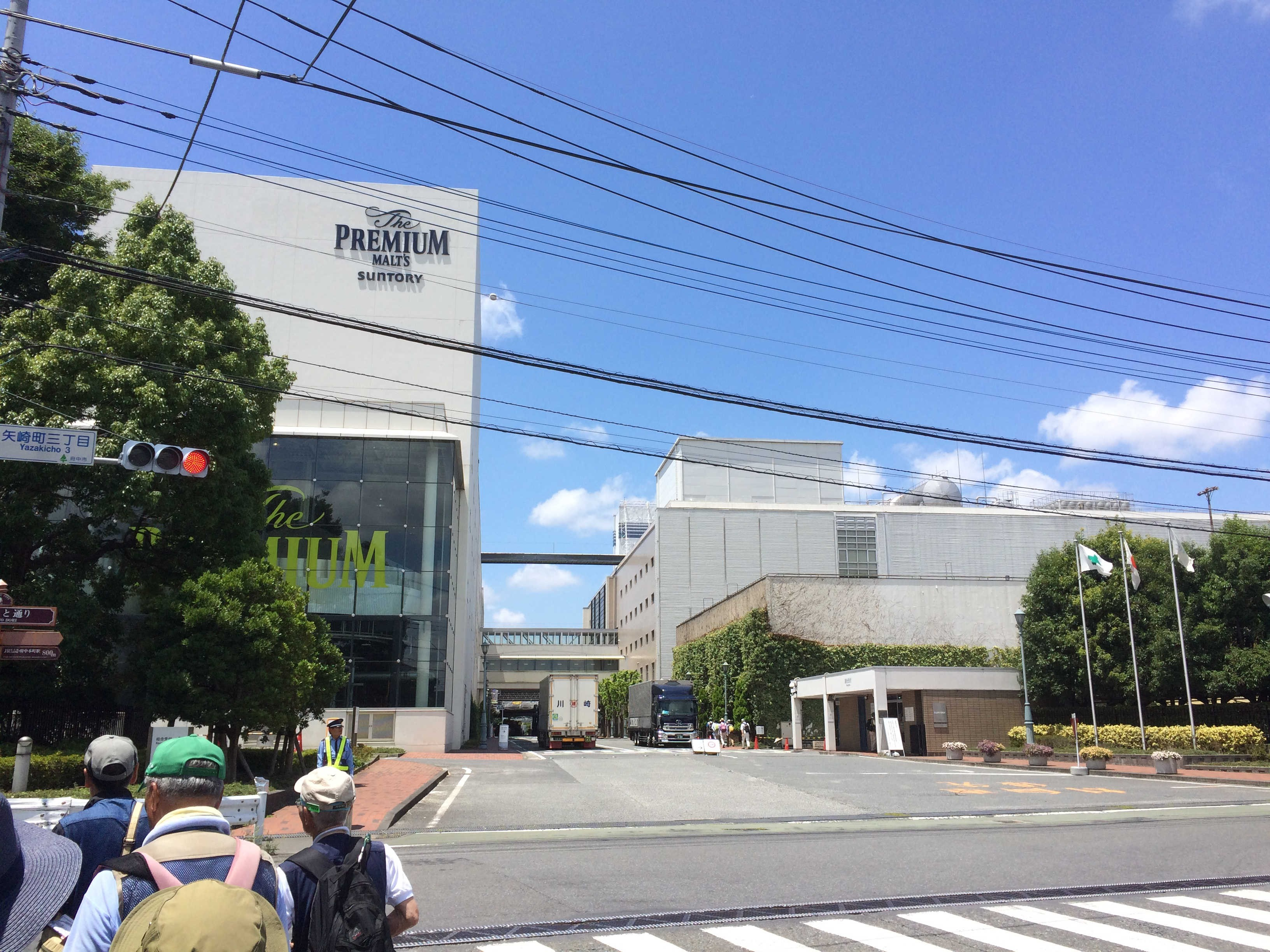 サントリー武蔵野工場