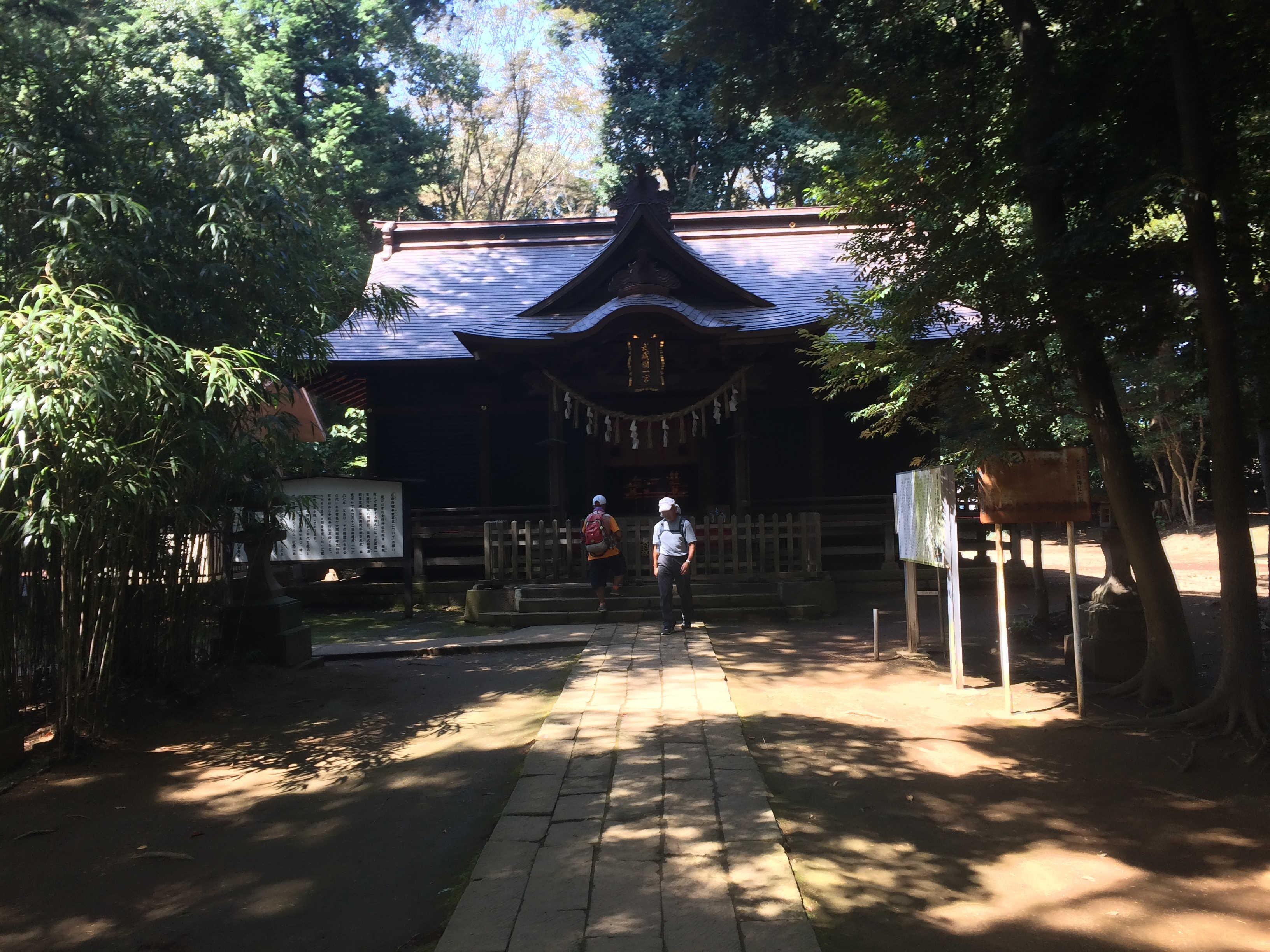 武蔵国一ノ宮氷川女體神社