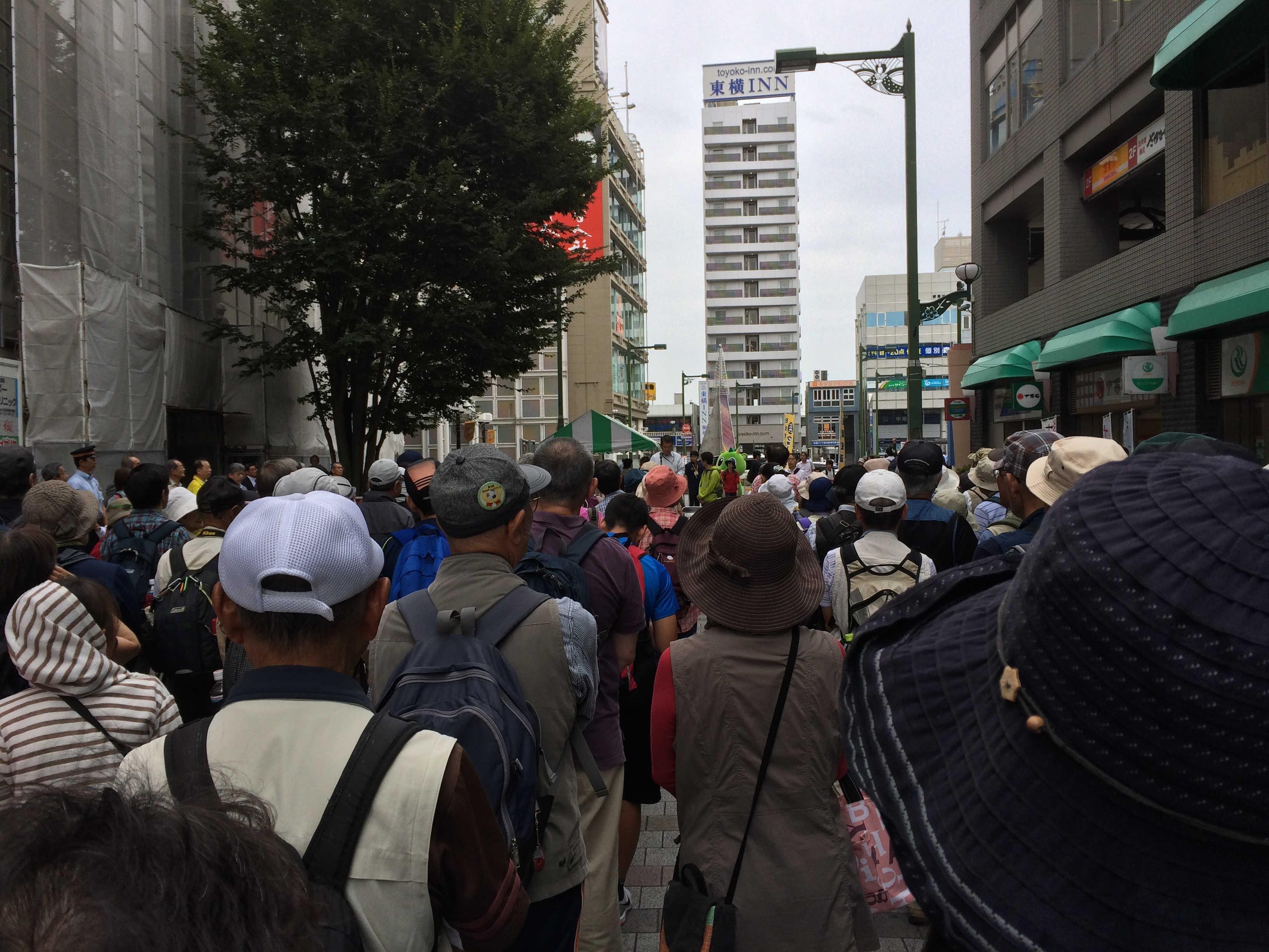 岩槻駅(スタート)