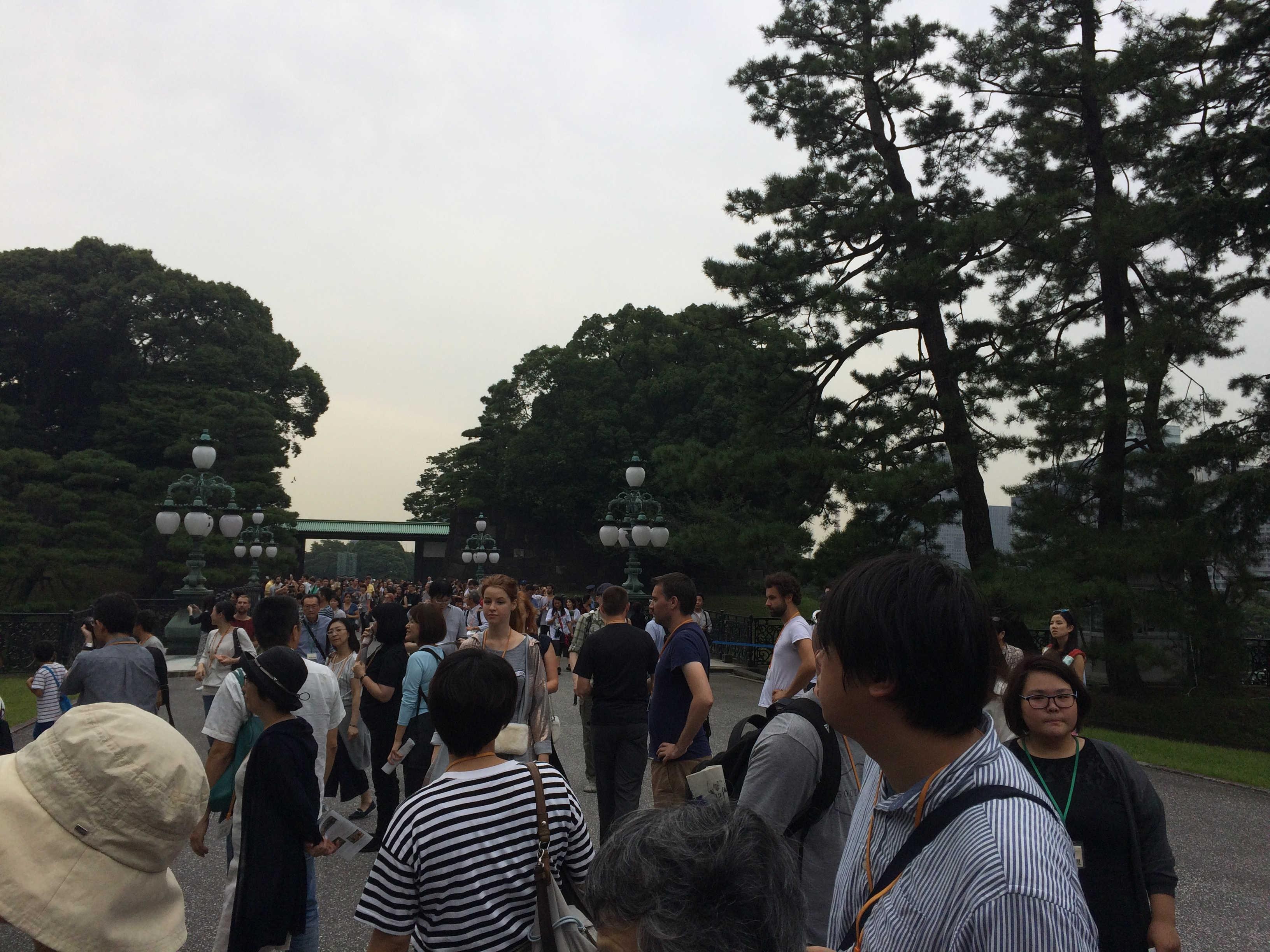 正門鉄橋(二重橋)
