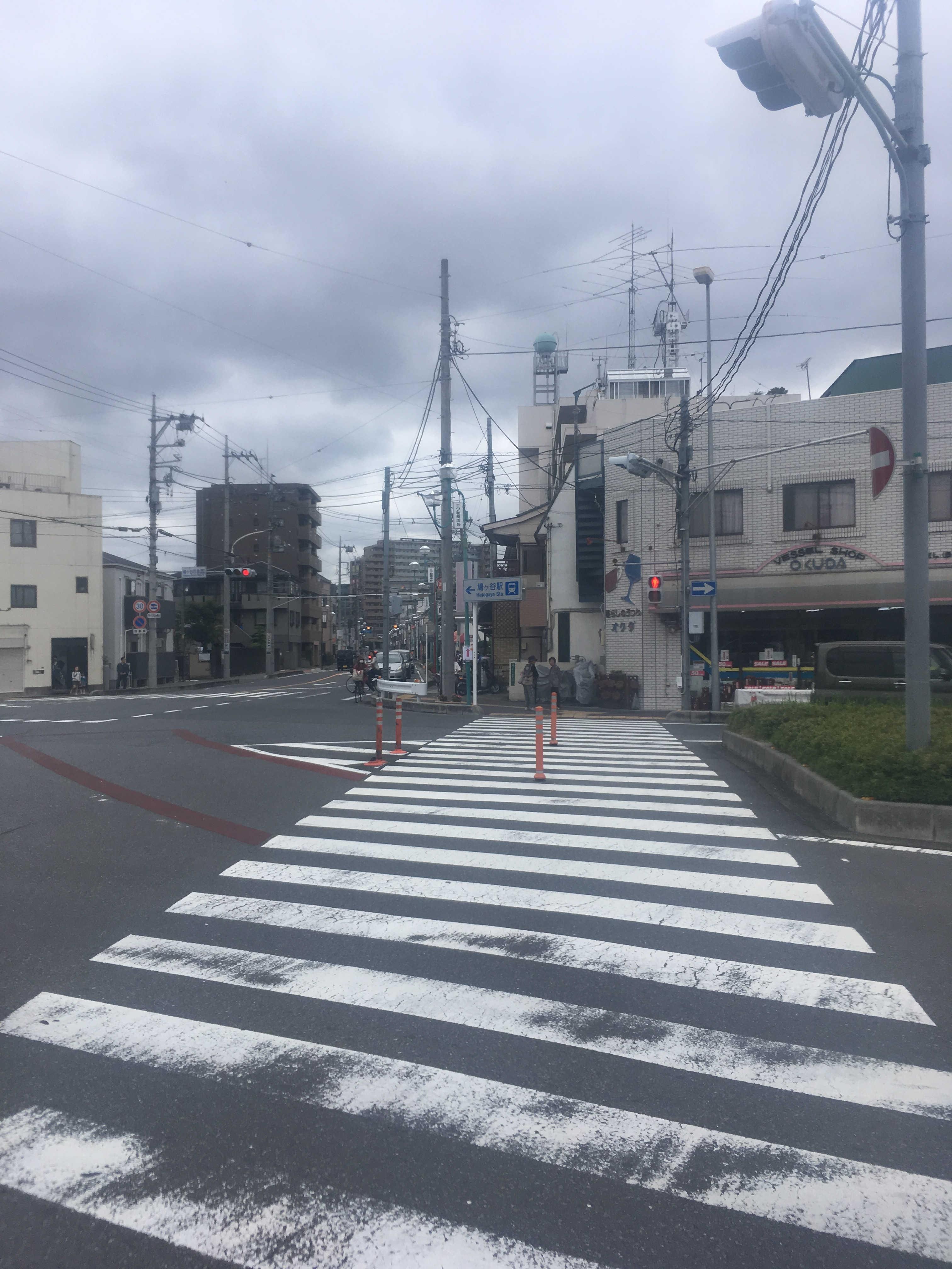 鳩ヶ谷庁舎(西)交差点