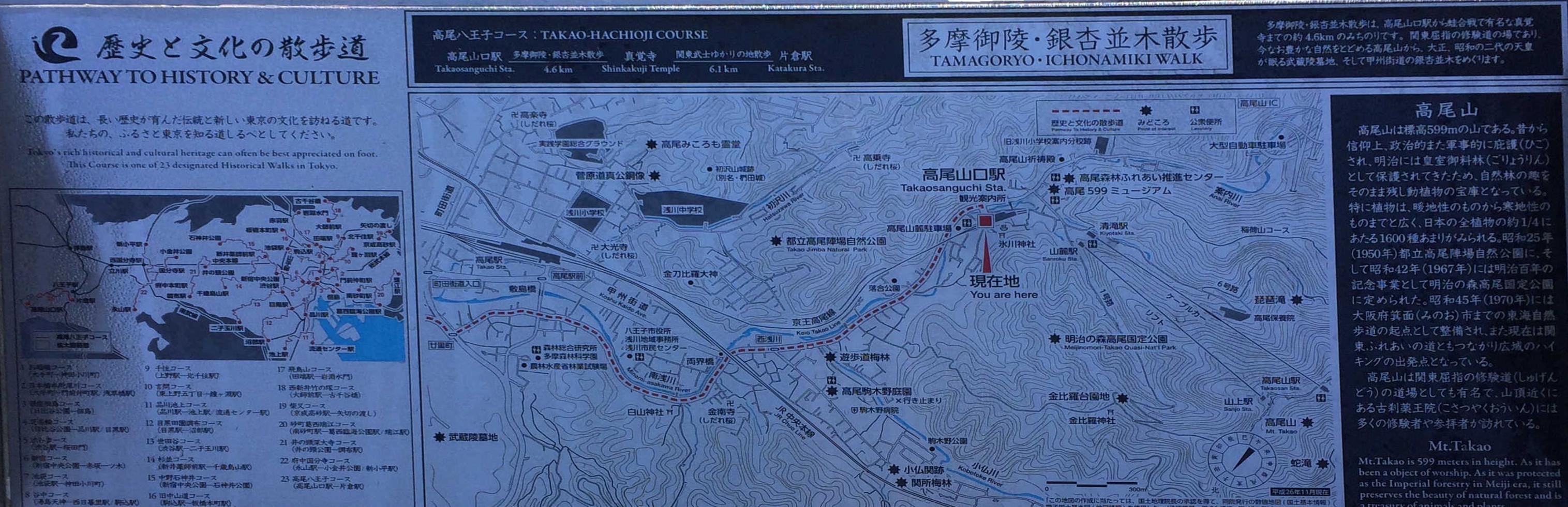 歴史と文化の散歩道