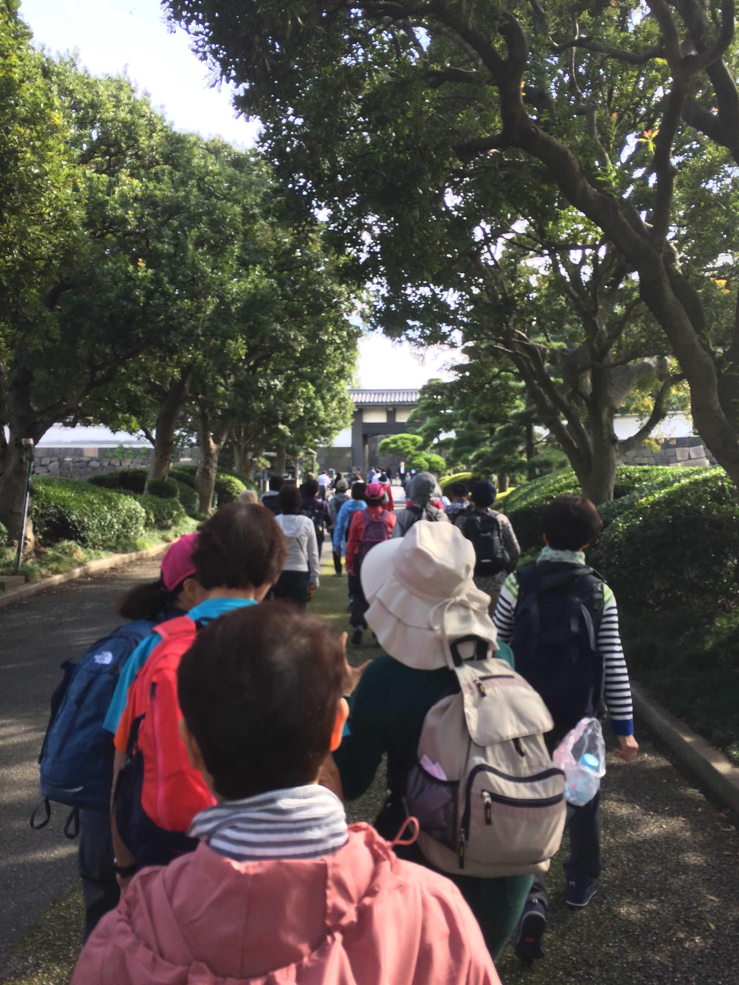東京近代美術館前