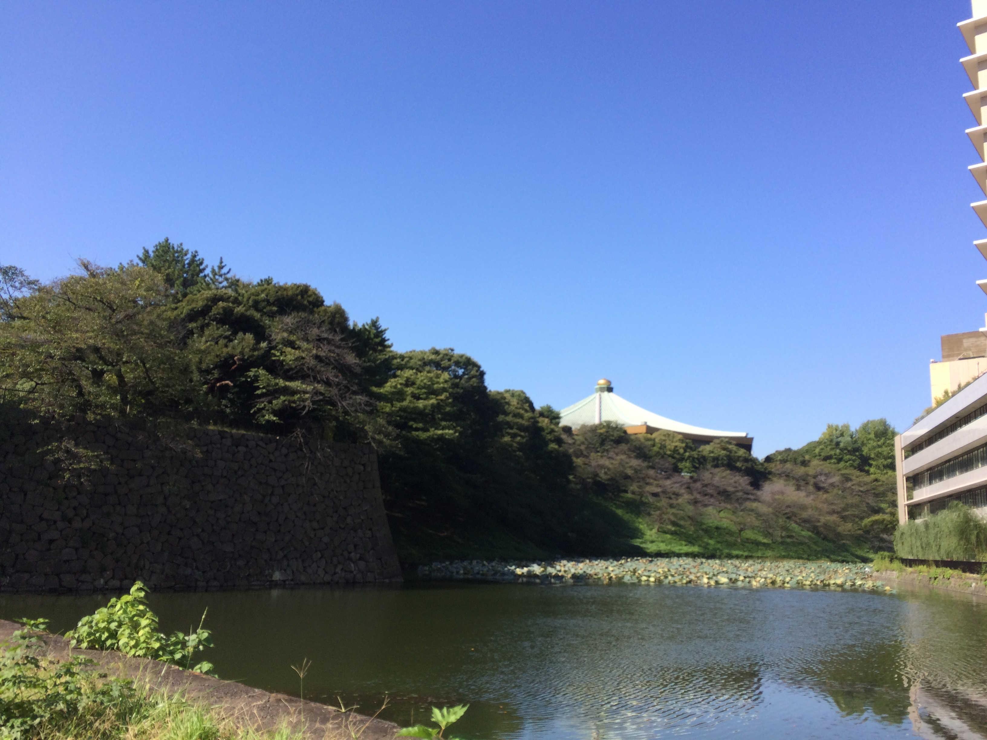 清水門から日本武道館