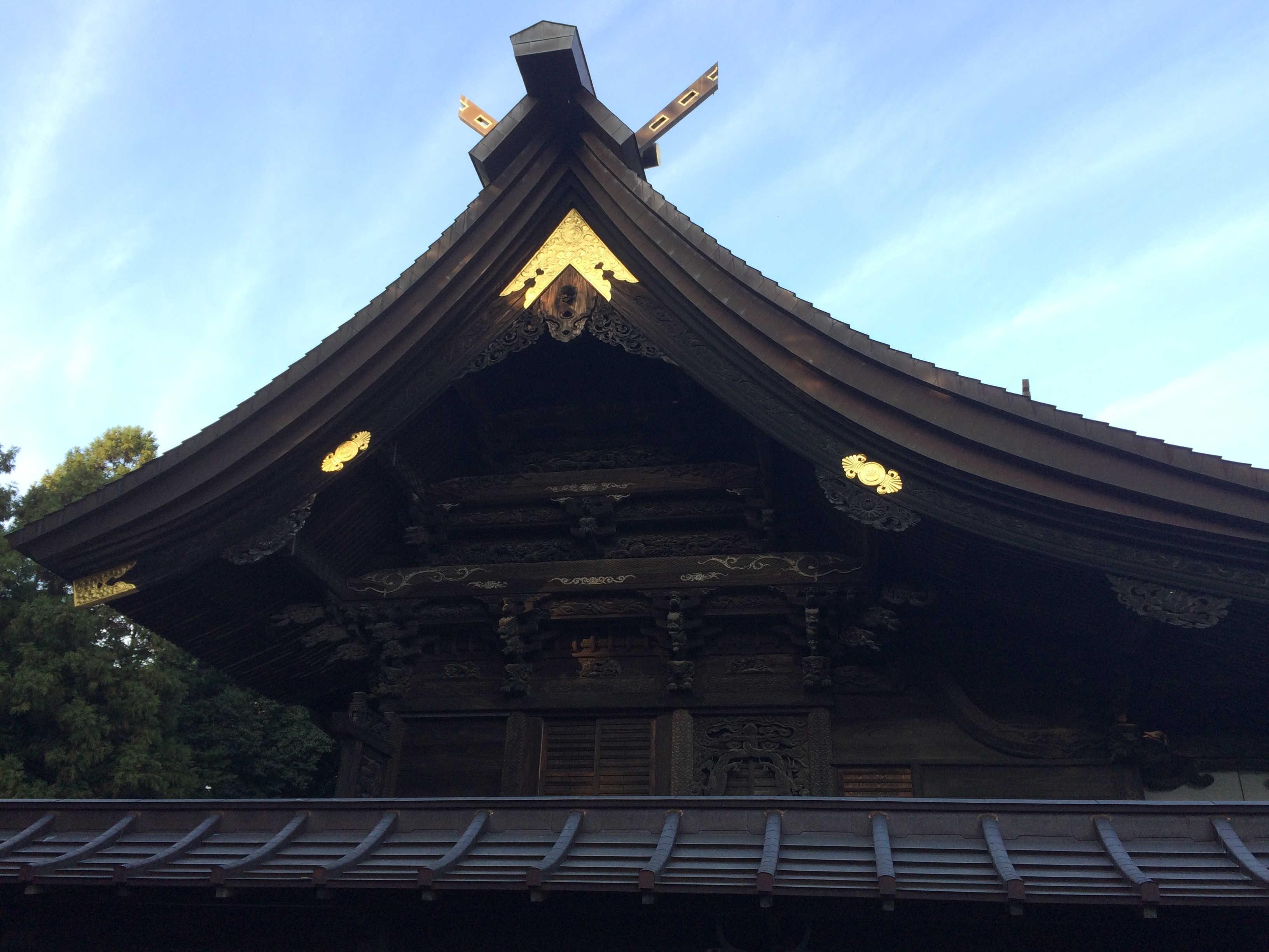 箭弓神社拝殿