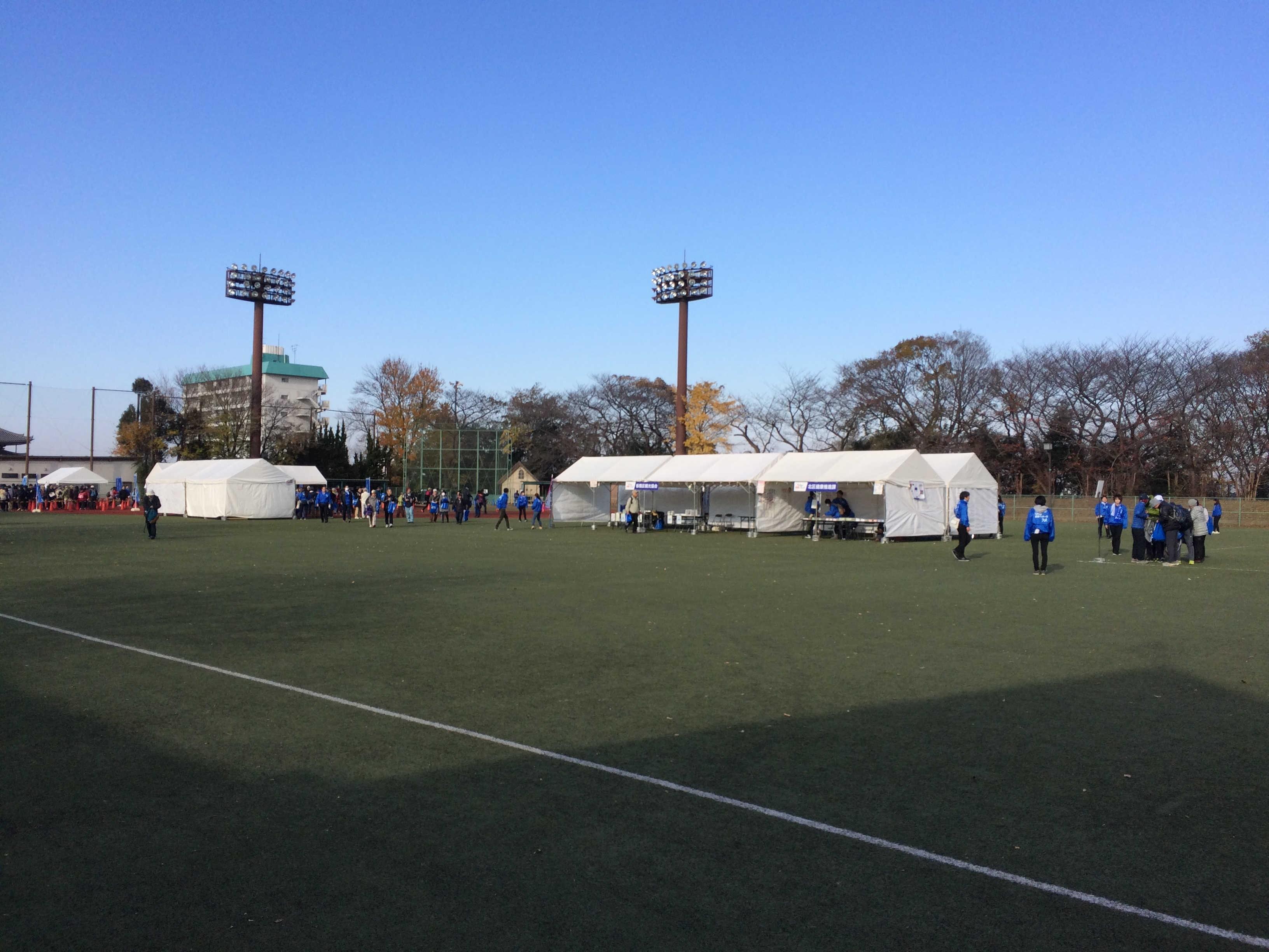 板橋区立小豆沢野球場(スタート)