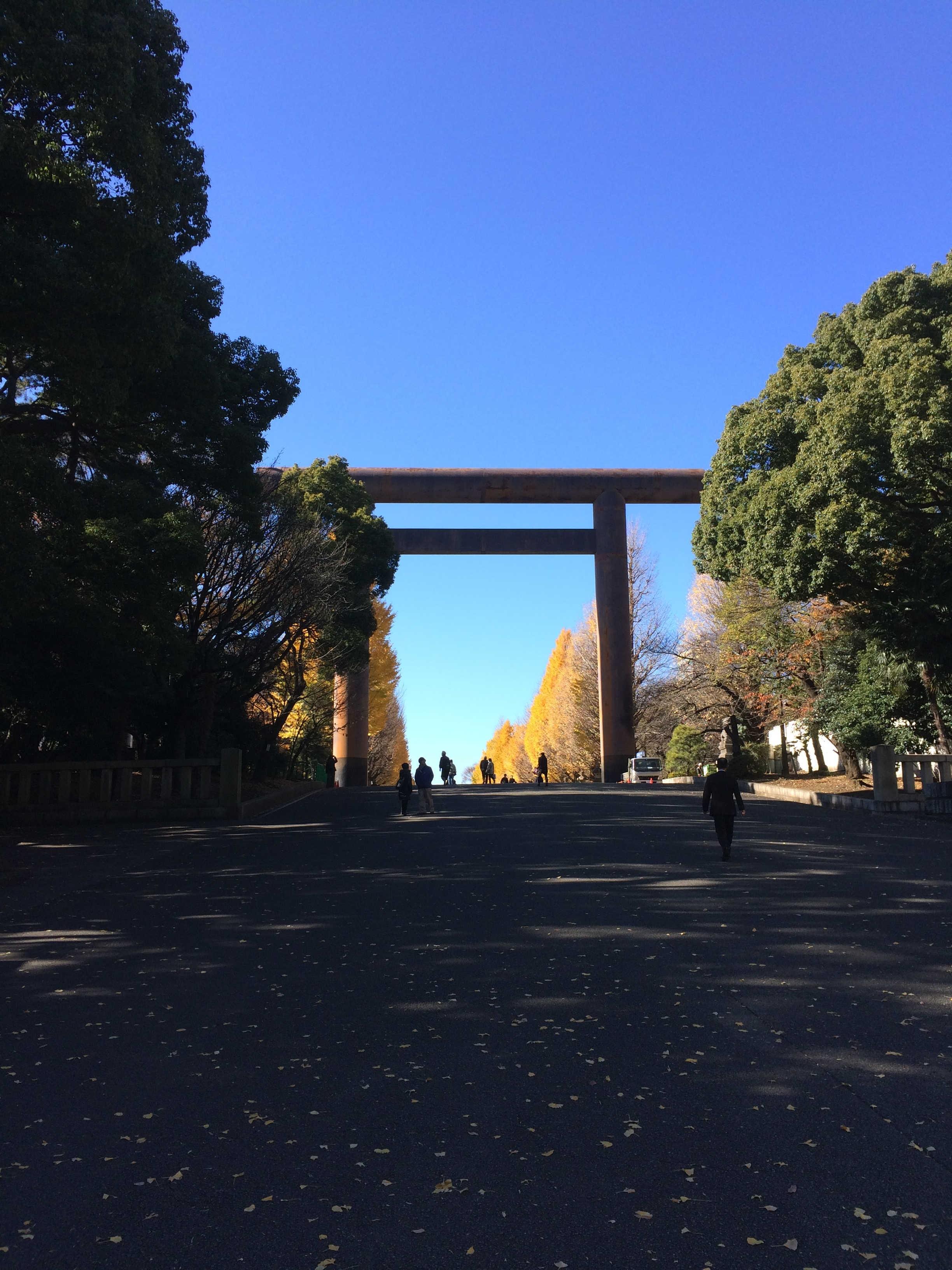靖国神社第一鳥居(大鳥居)