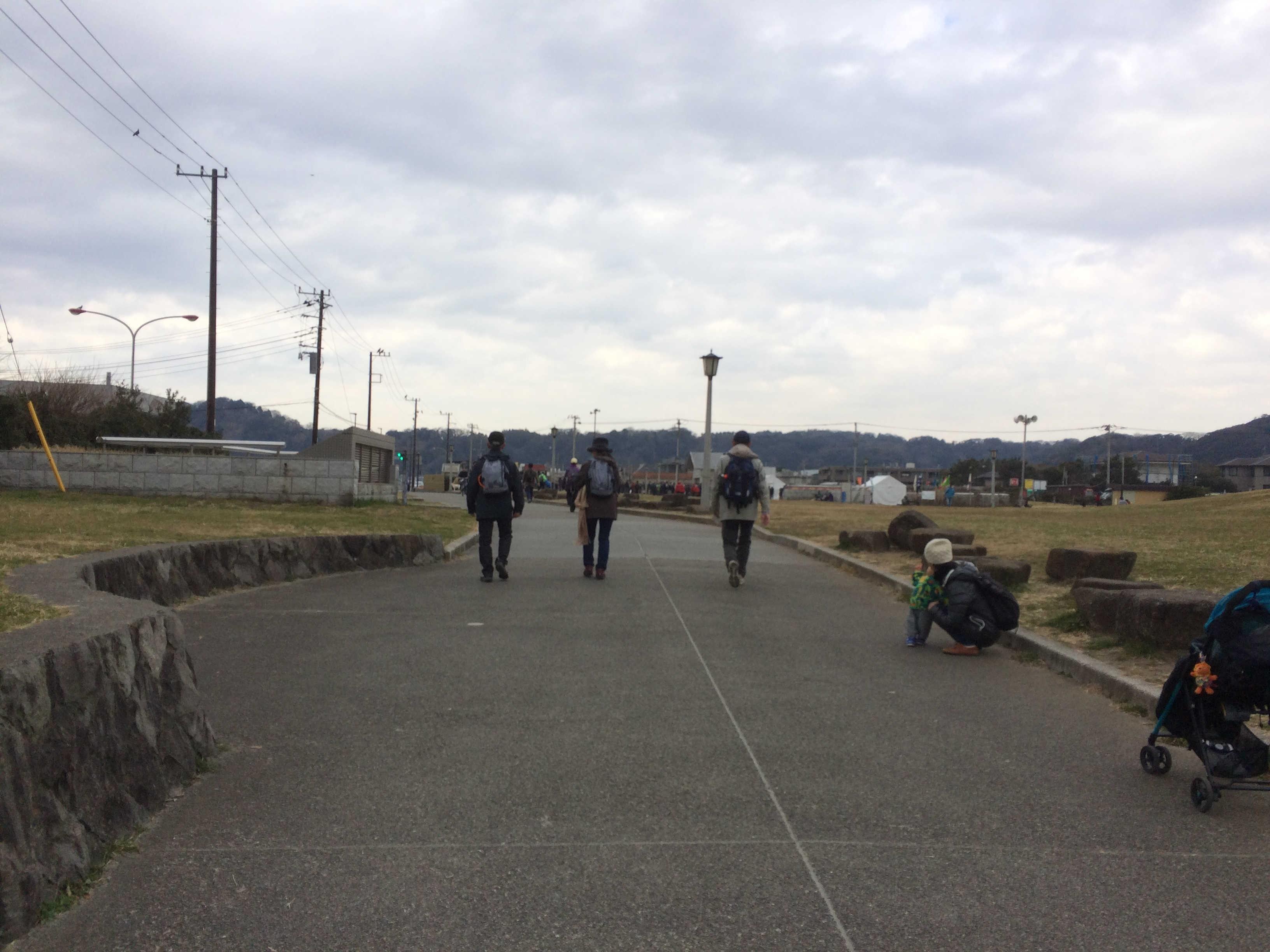 由比ヶ浜・鎌倉海浜公園(ゴール)