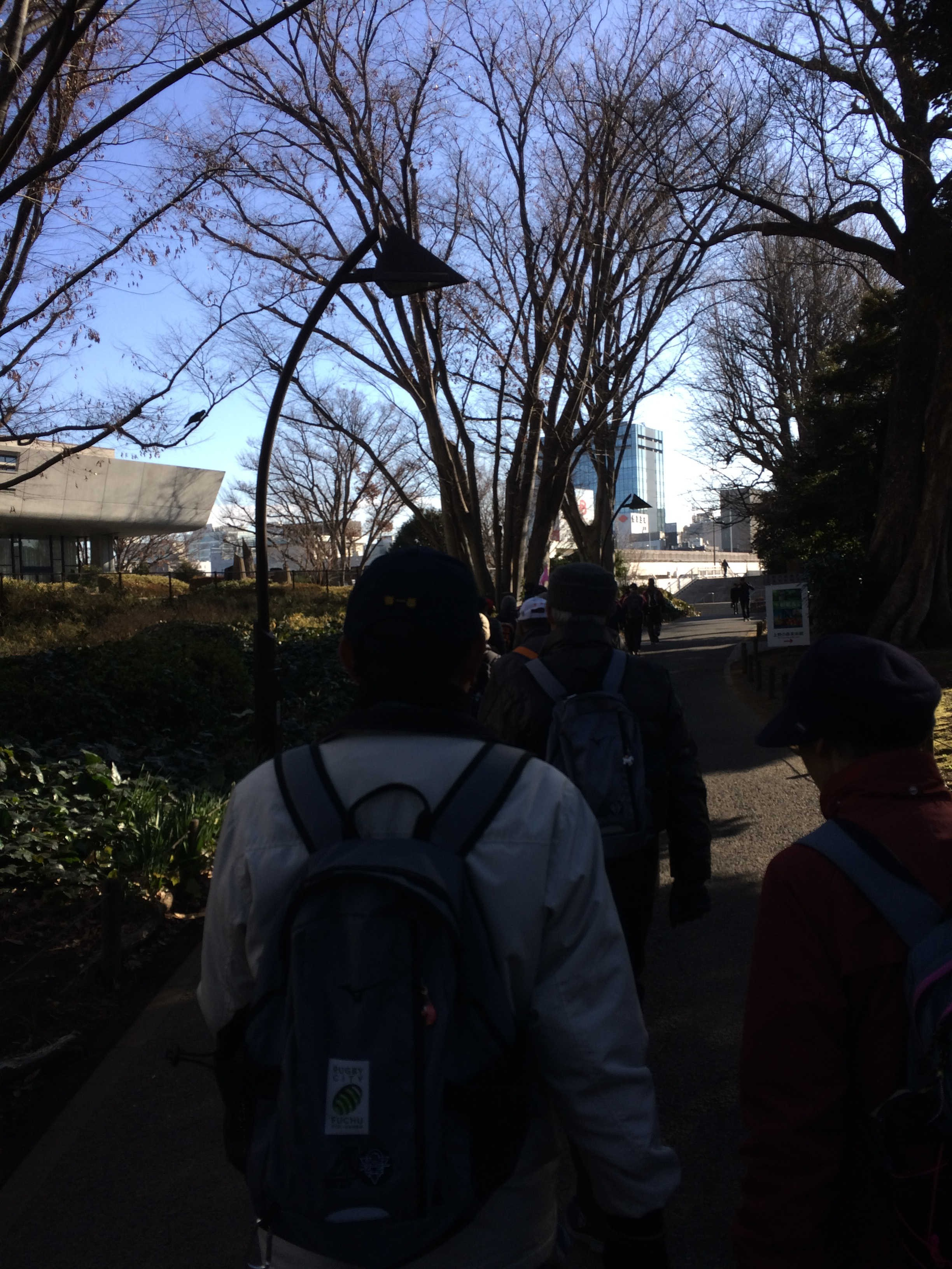 上野公園上野動物園前交番横(スタート)