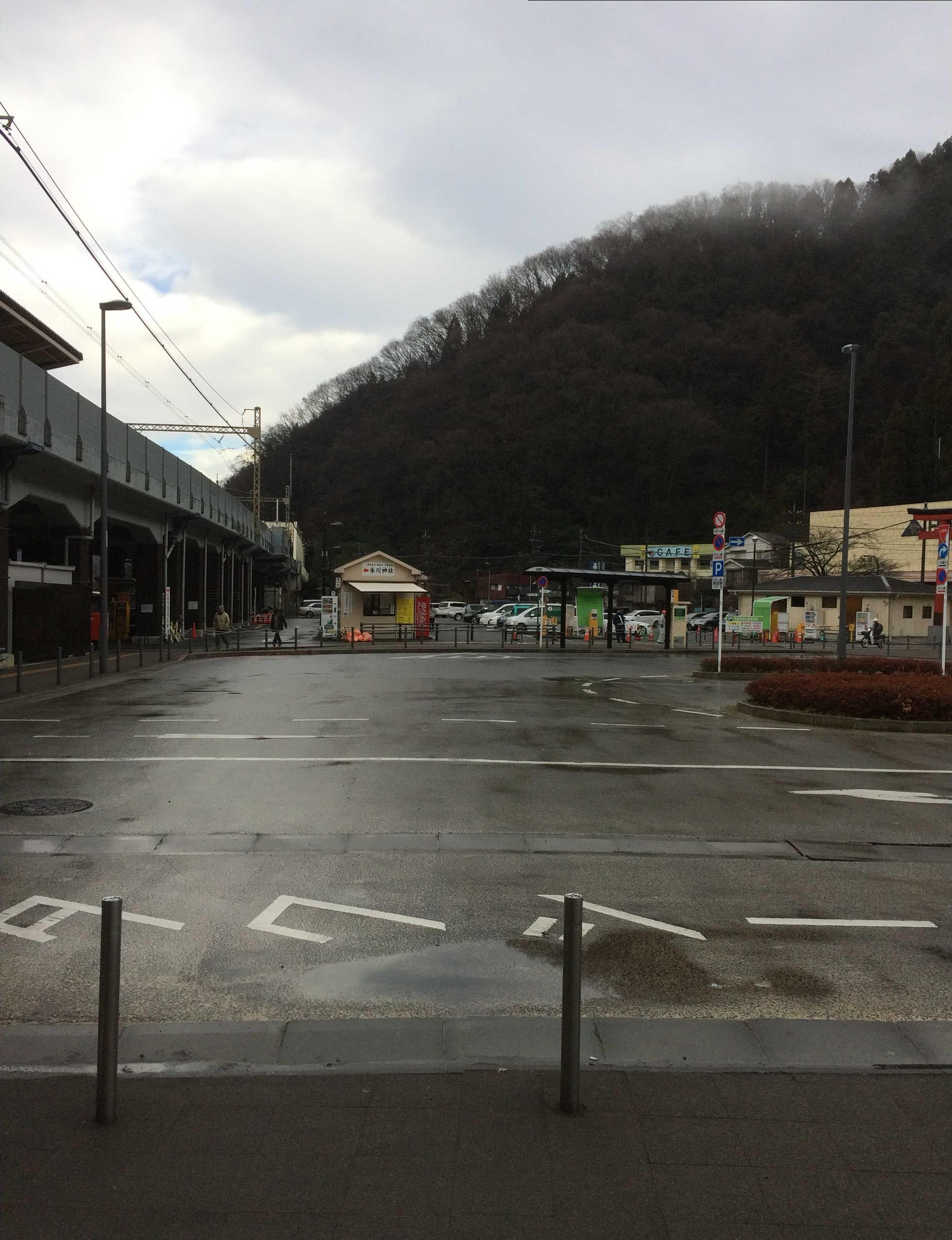 高尾山口駅(スタート)