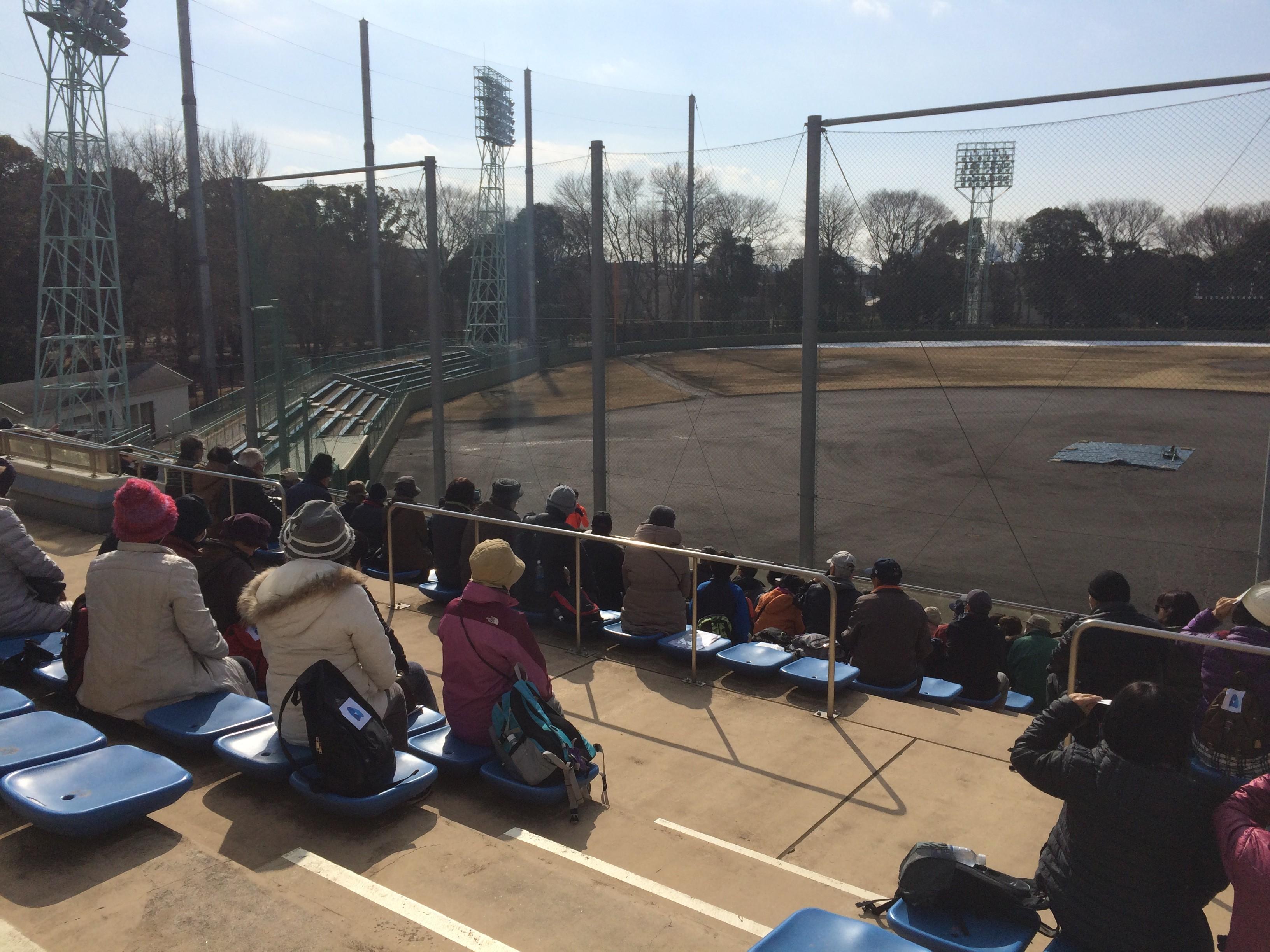 駒沢公園内硬式野球場(スタート)