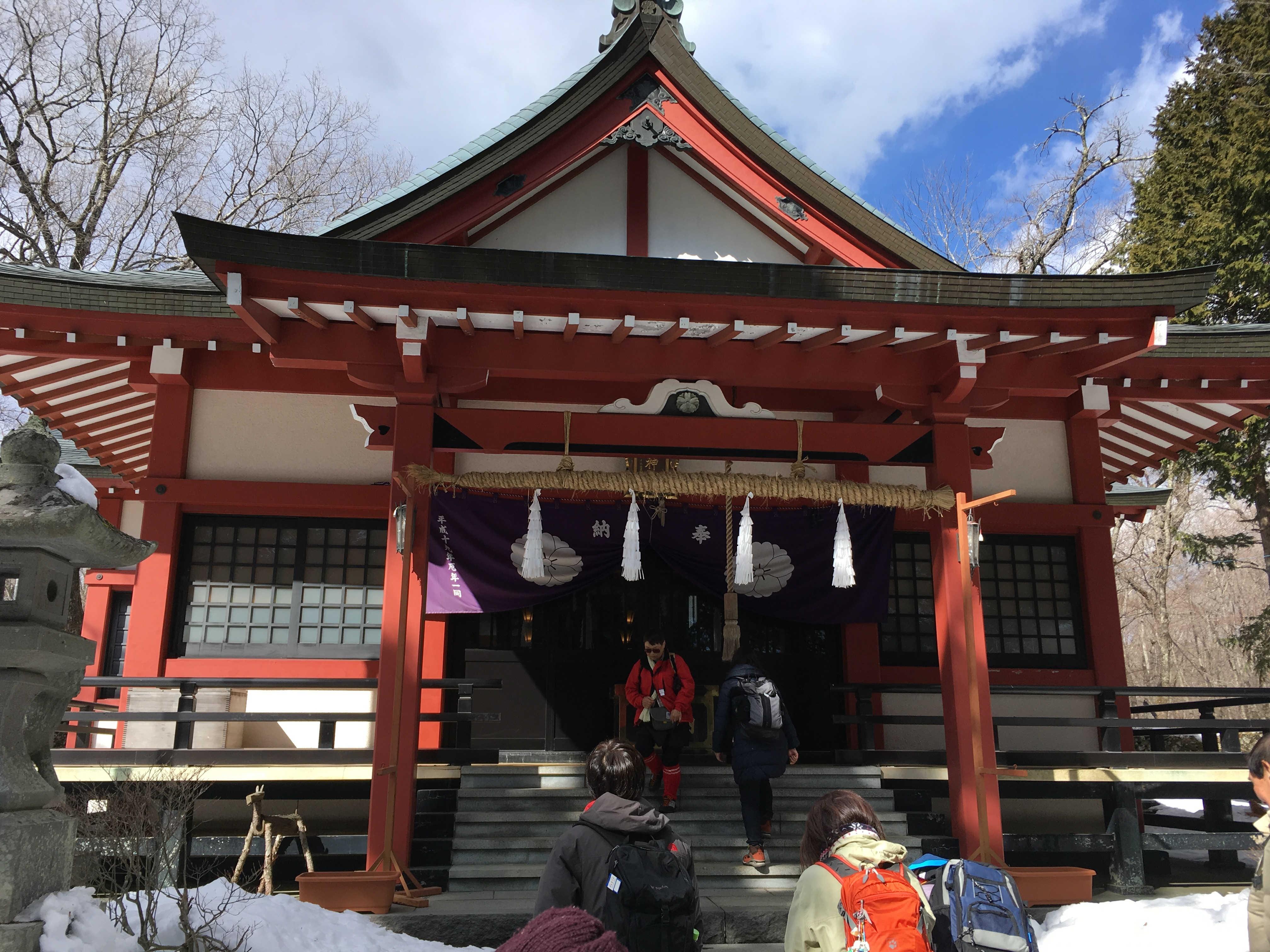 山中浅間神社