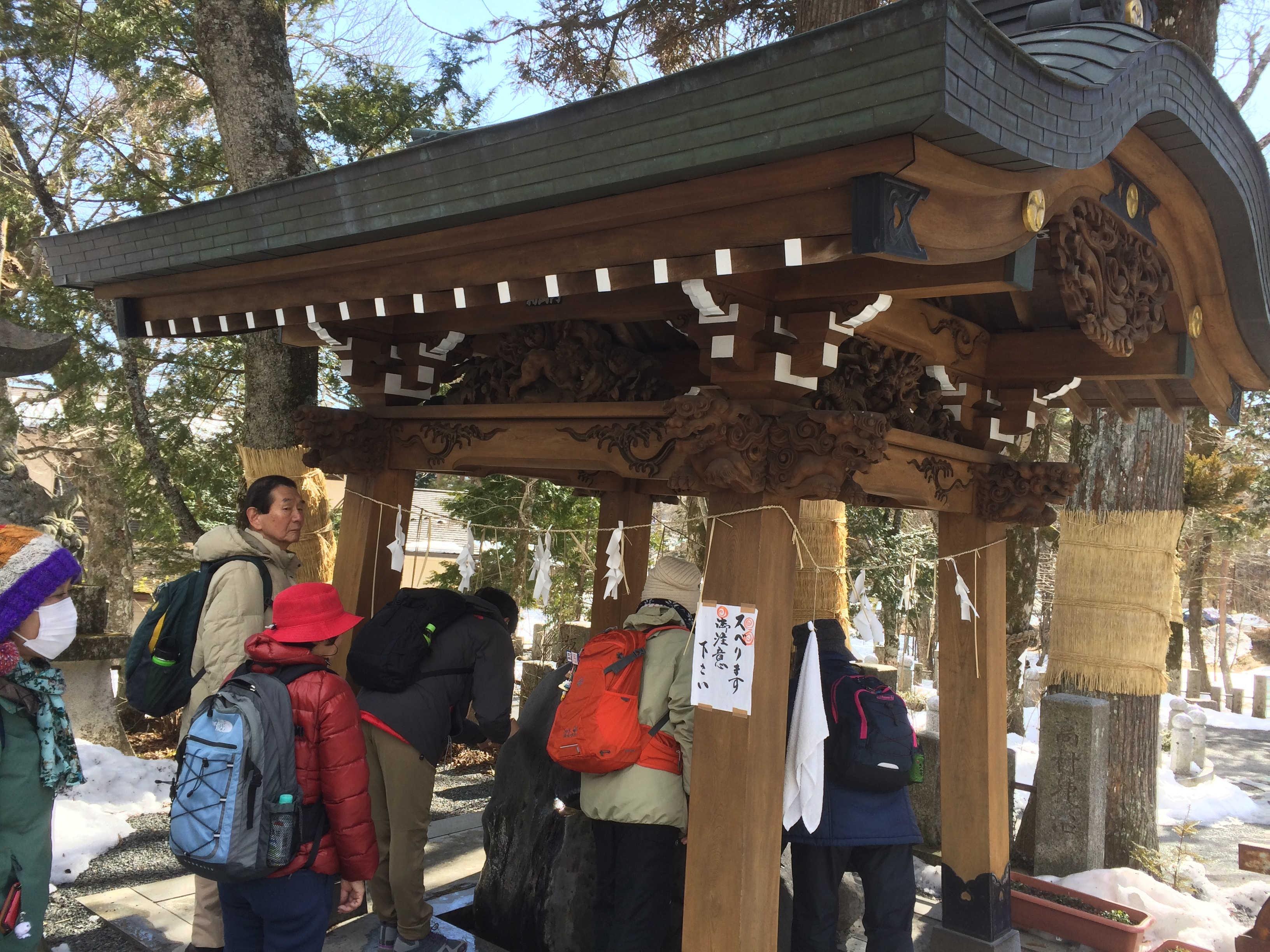 山中諏訪神社