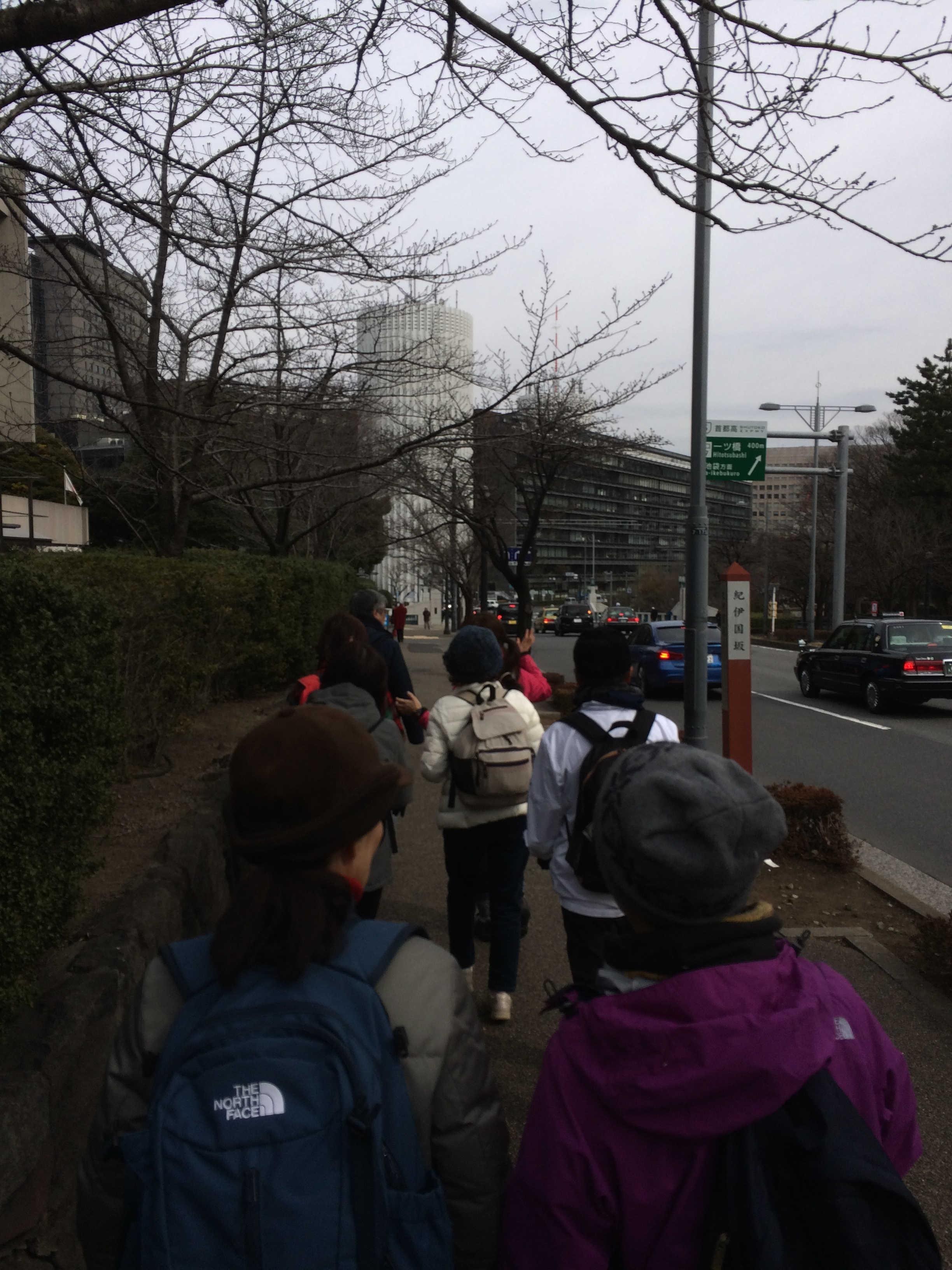 東京国立近代美術館前