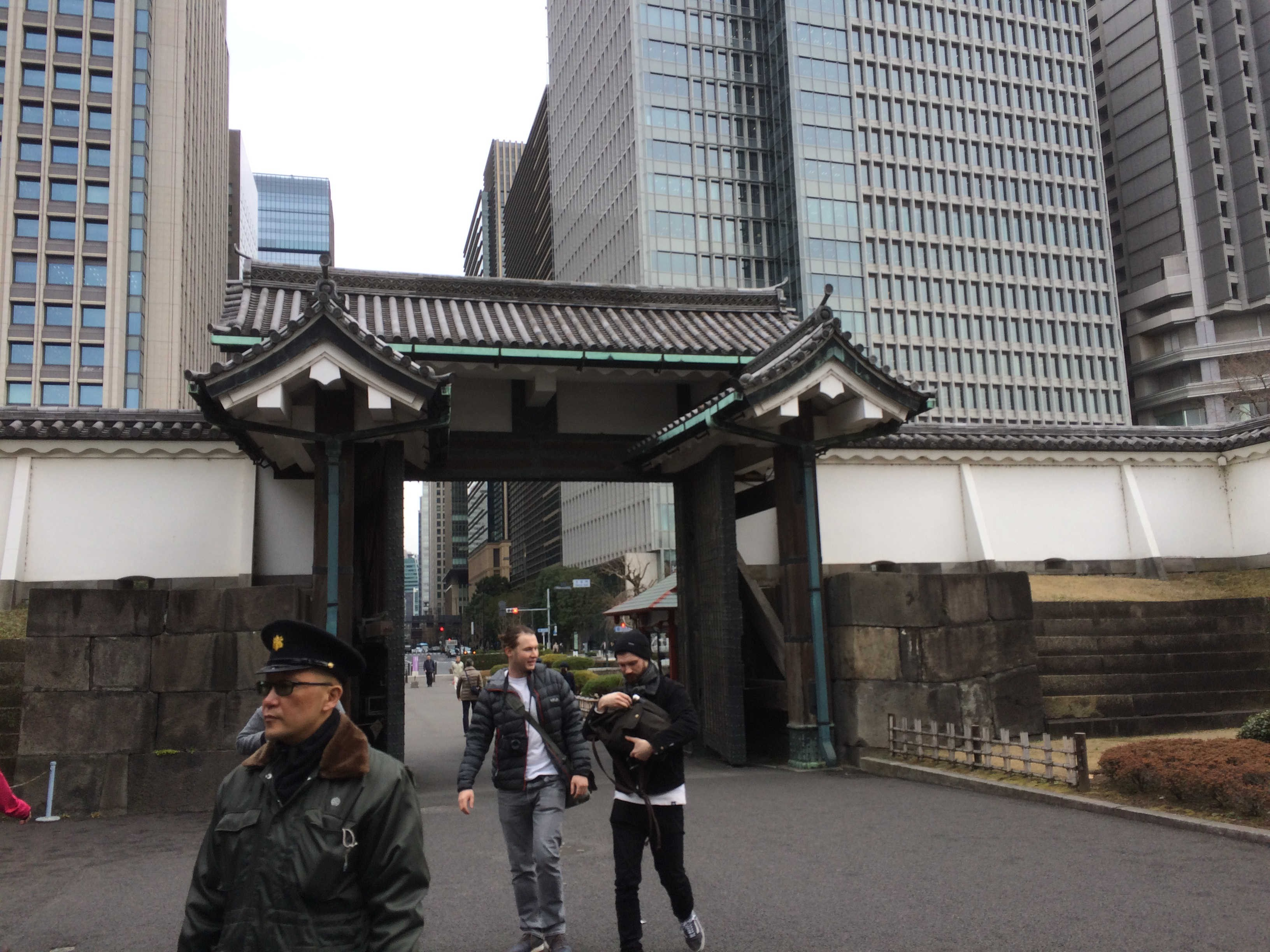 江戸城大手門(皇居東御苑)