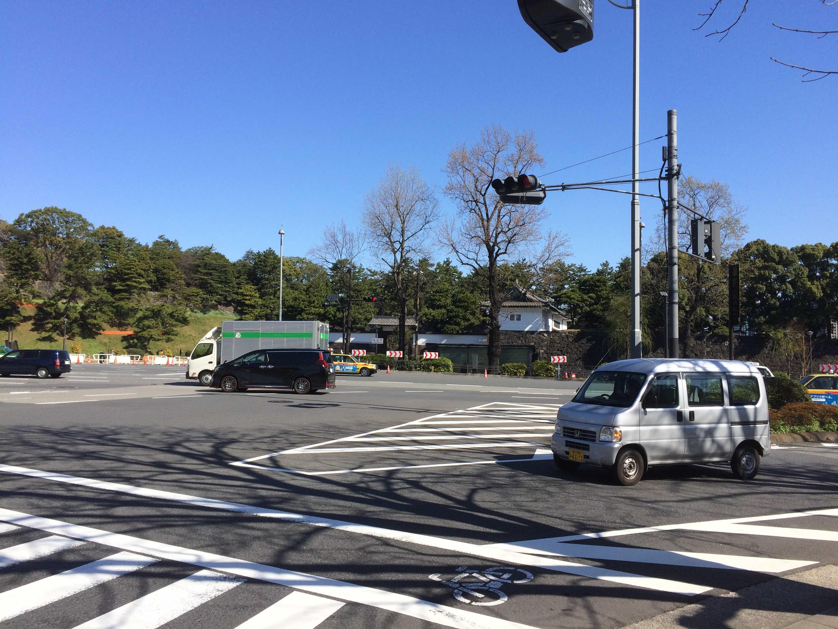 桜田門交差点(桜田門外の跡)