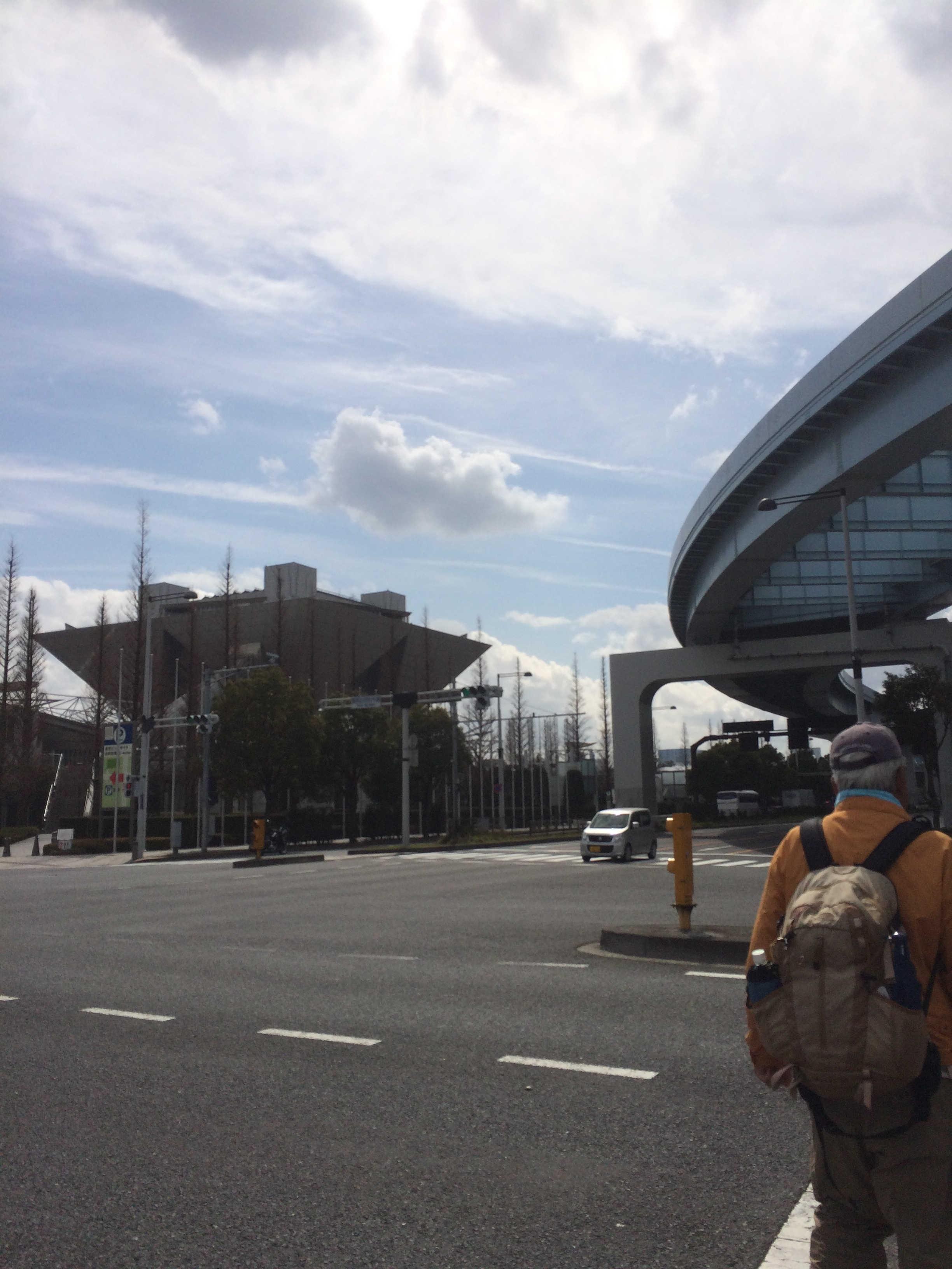 東京ビッグサイト前