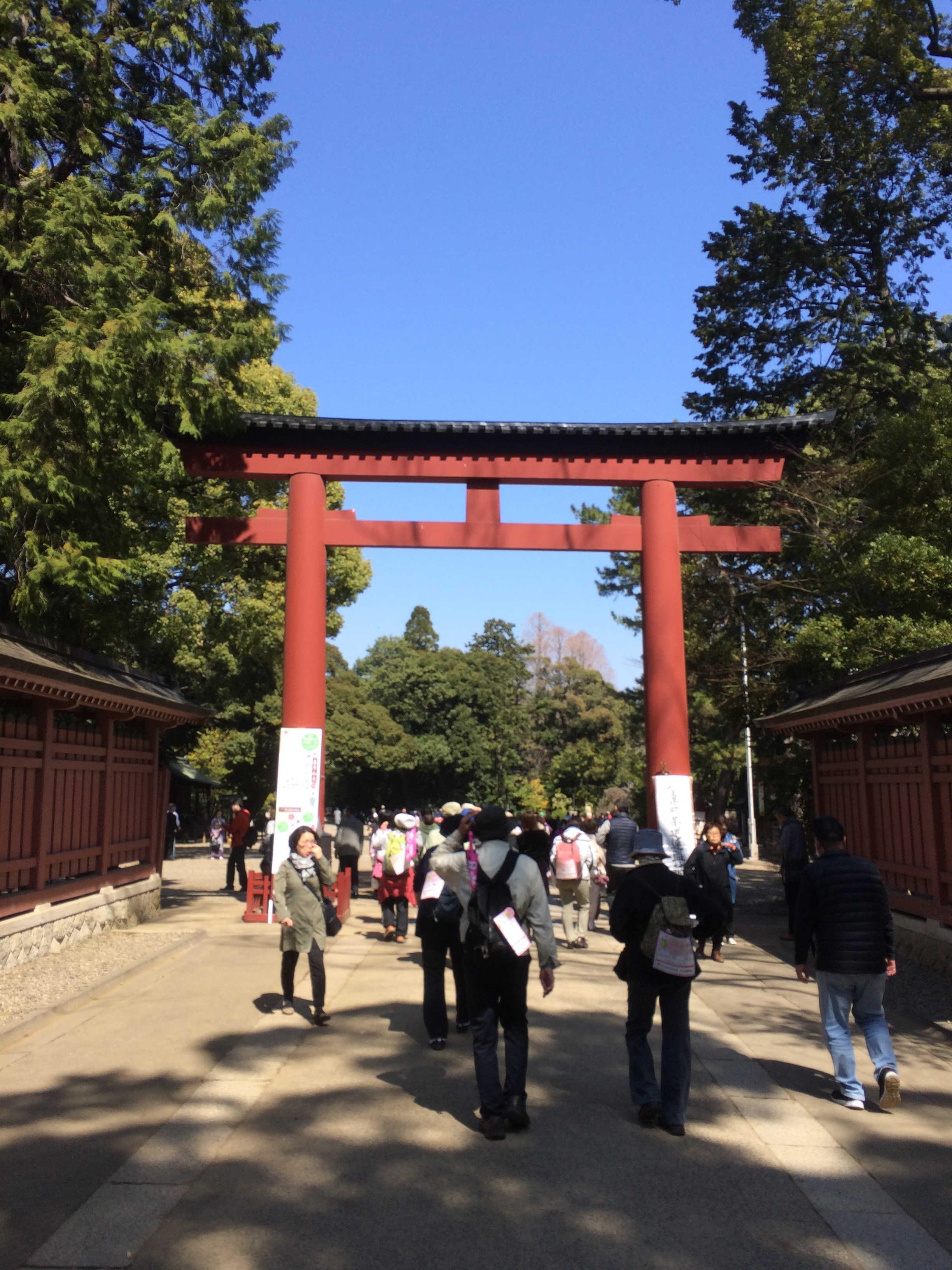 氷川神社三の鳥居