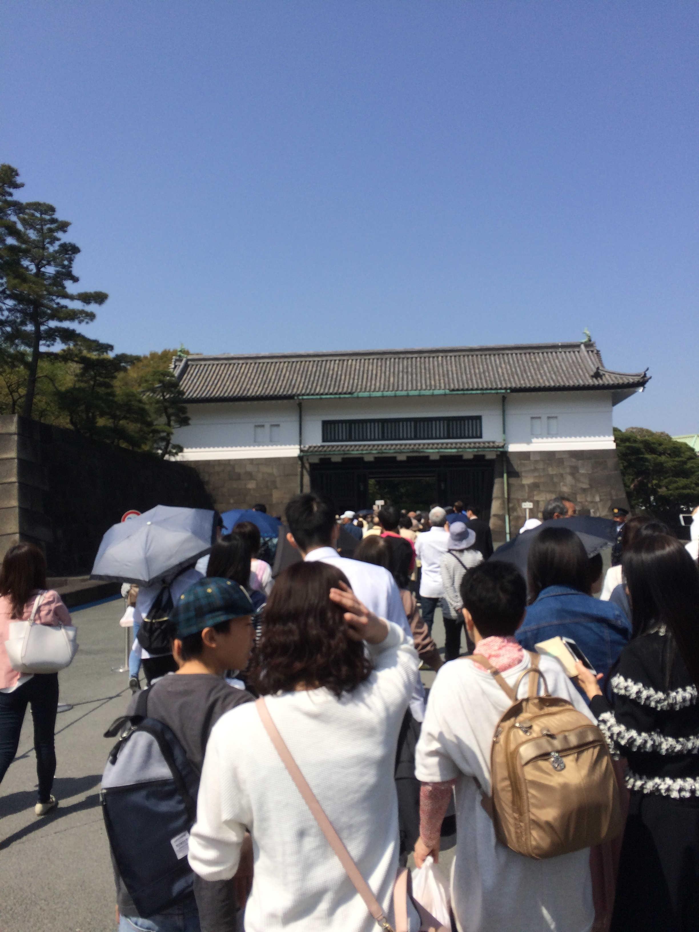 皇居坂下門入口