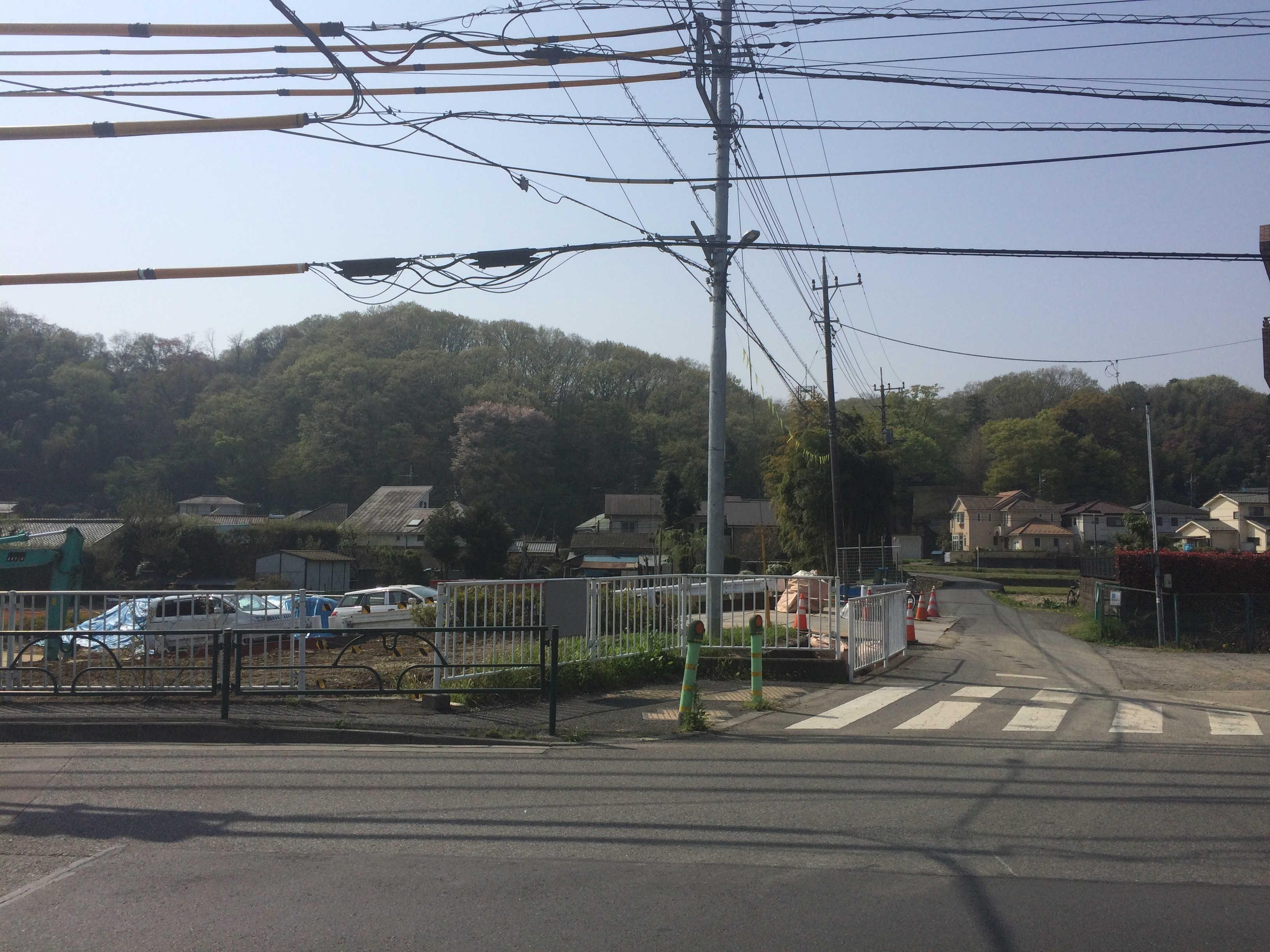 京王線長沼駅(スタート)
