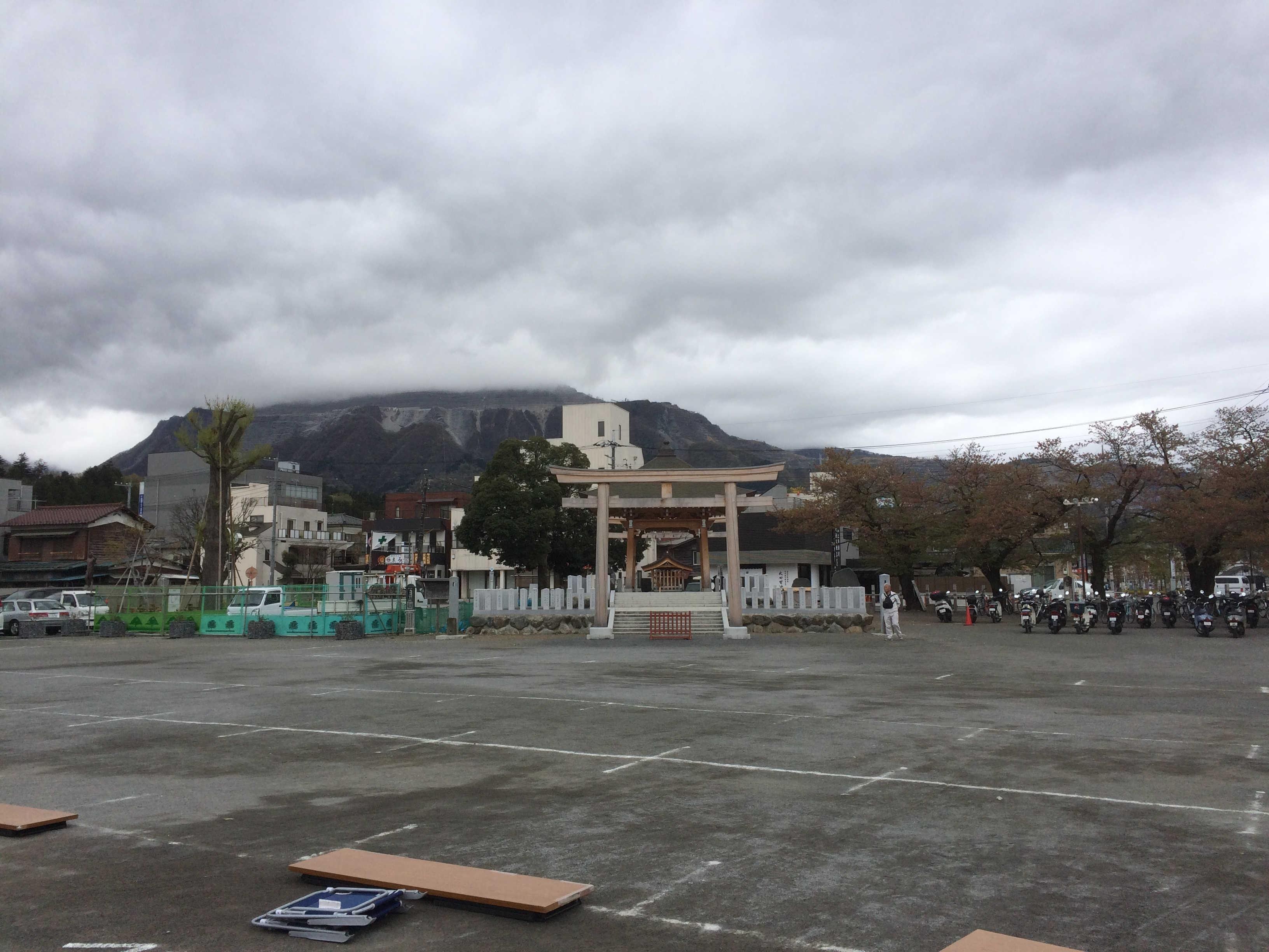市役所前広場(スタート)