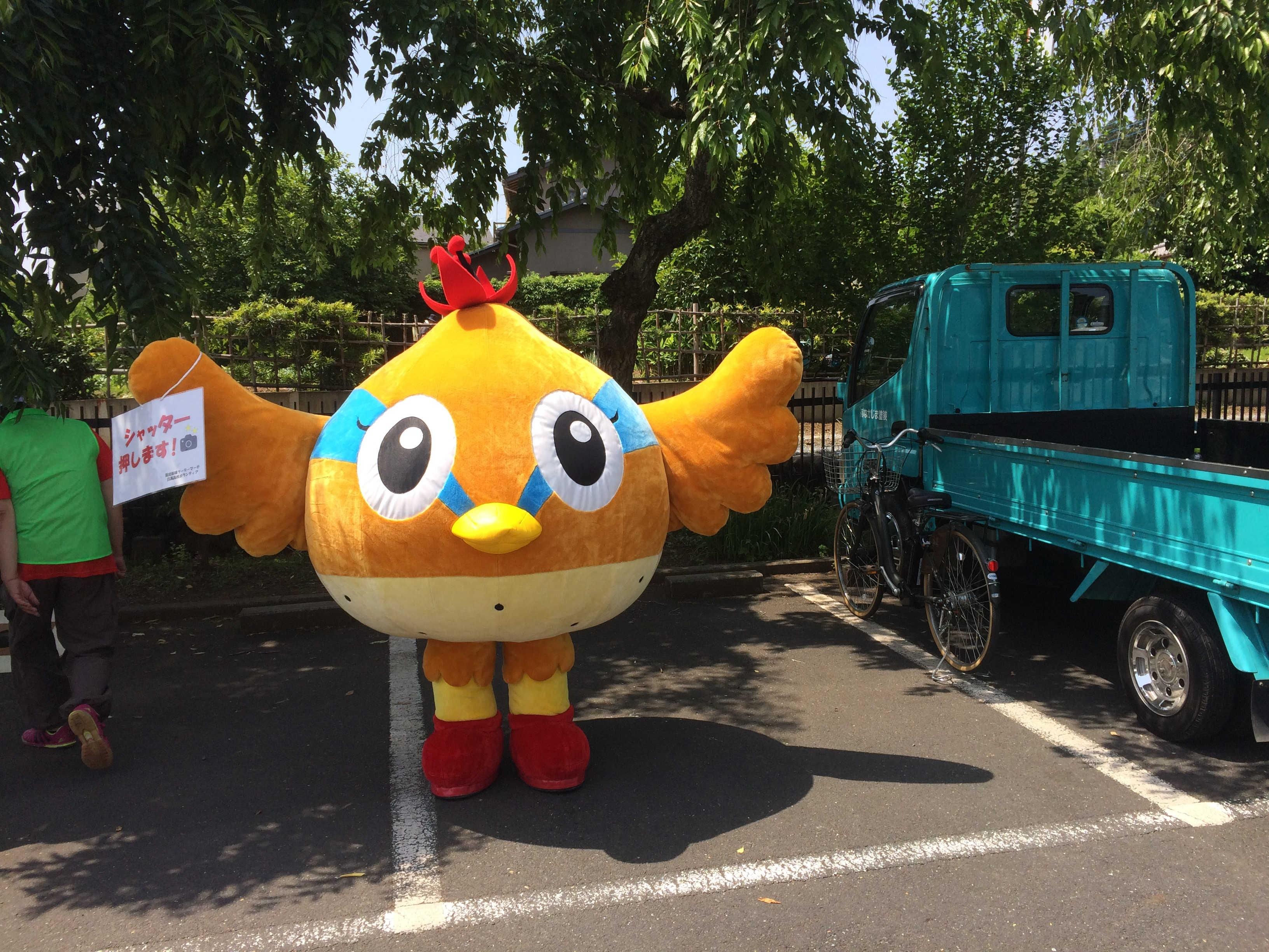 日高市のマスコットキャラクター(高麗神社)