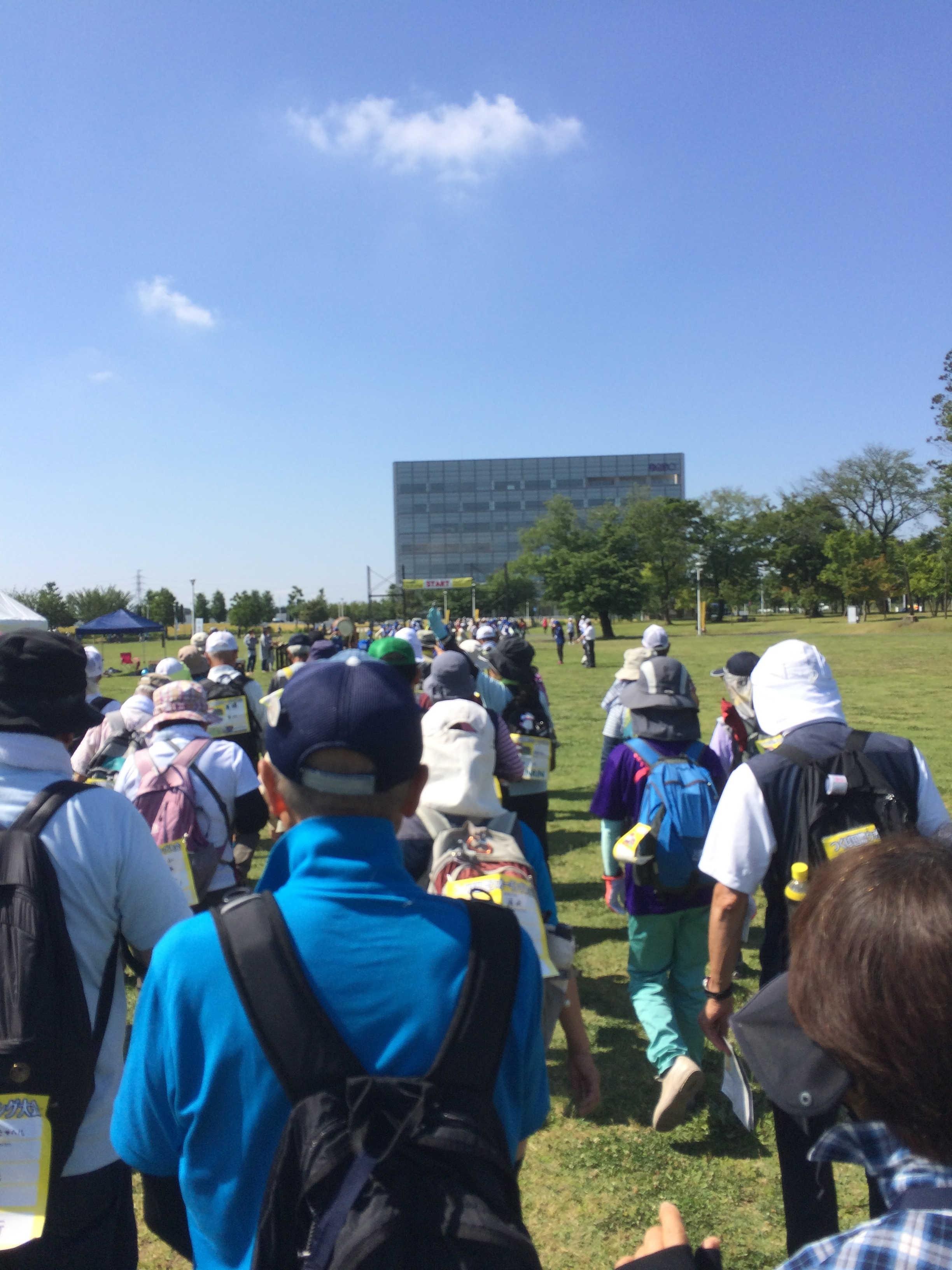 研究学園駅前公園会場(スタート