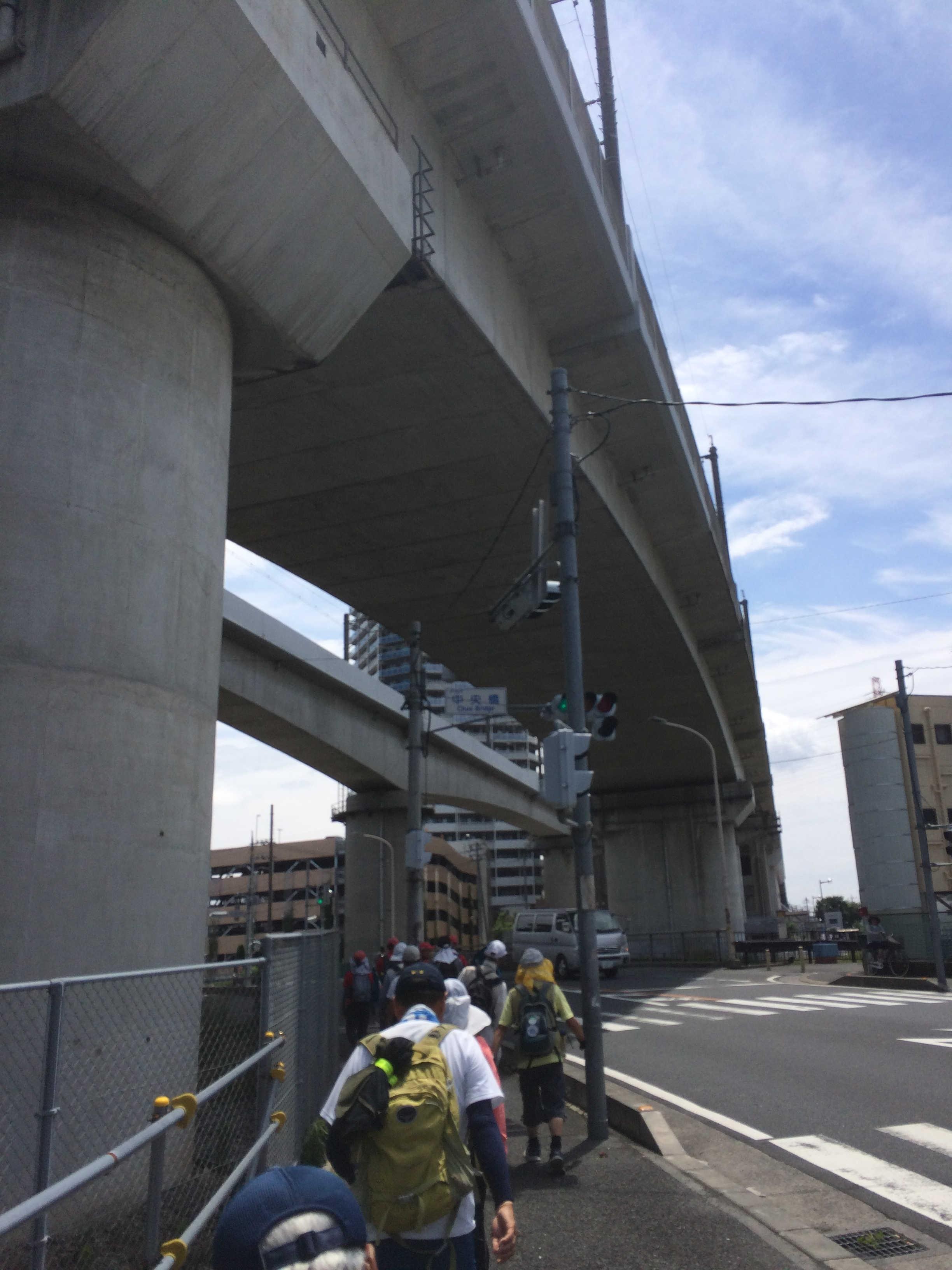 東北・上越新幹線高架下