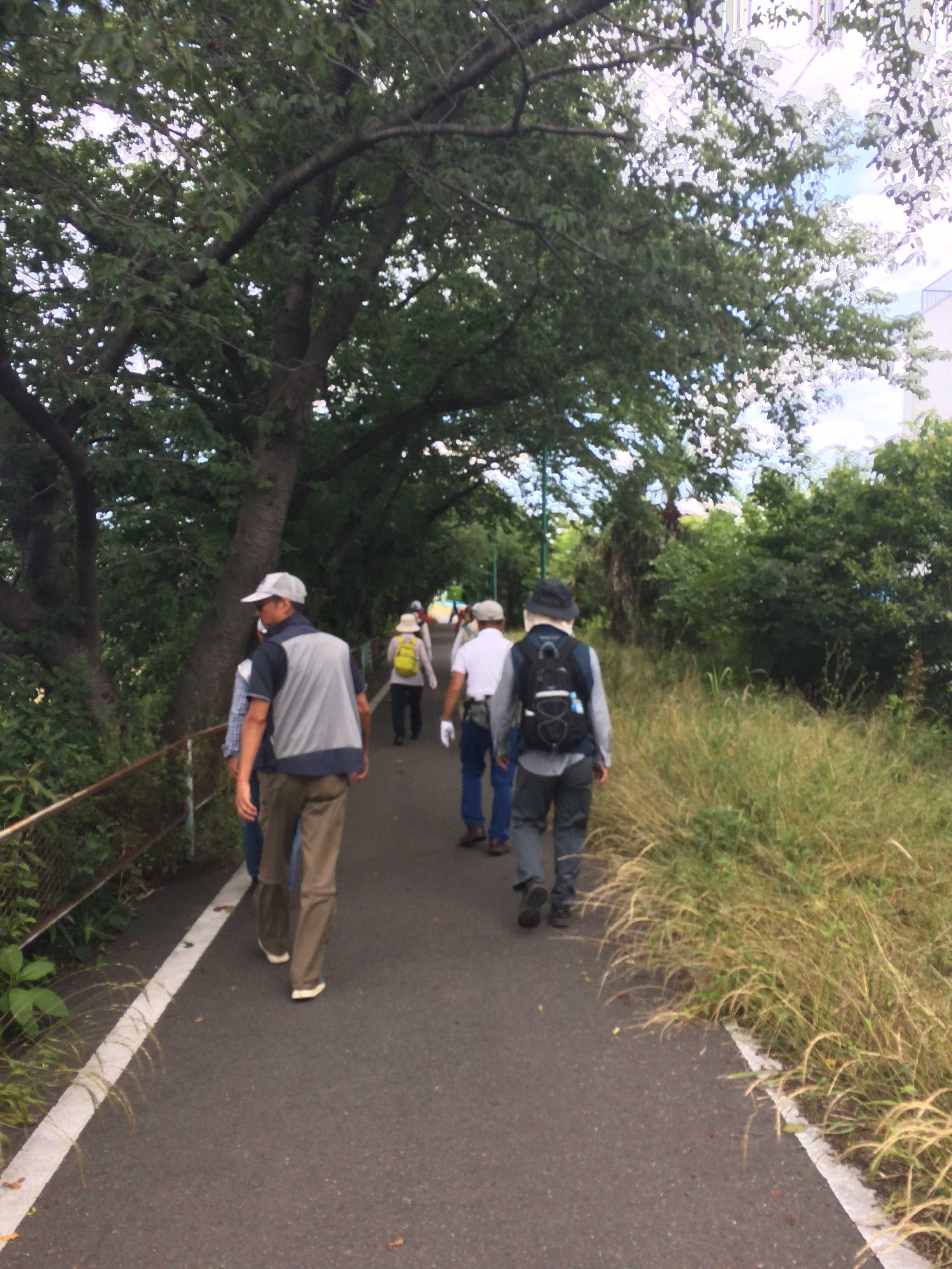 秋ヶ瀬緑道