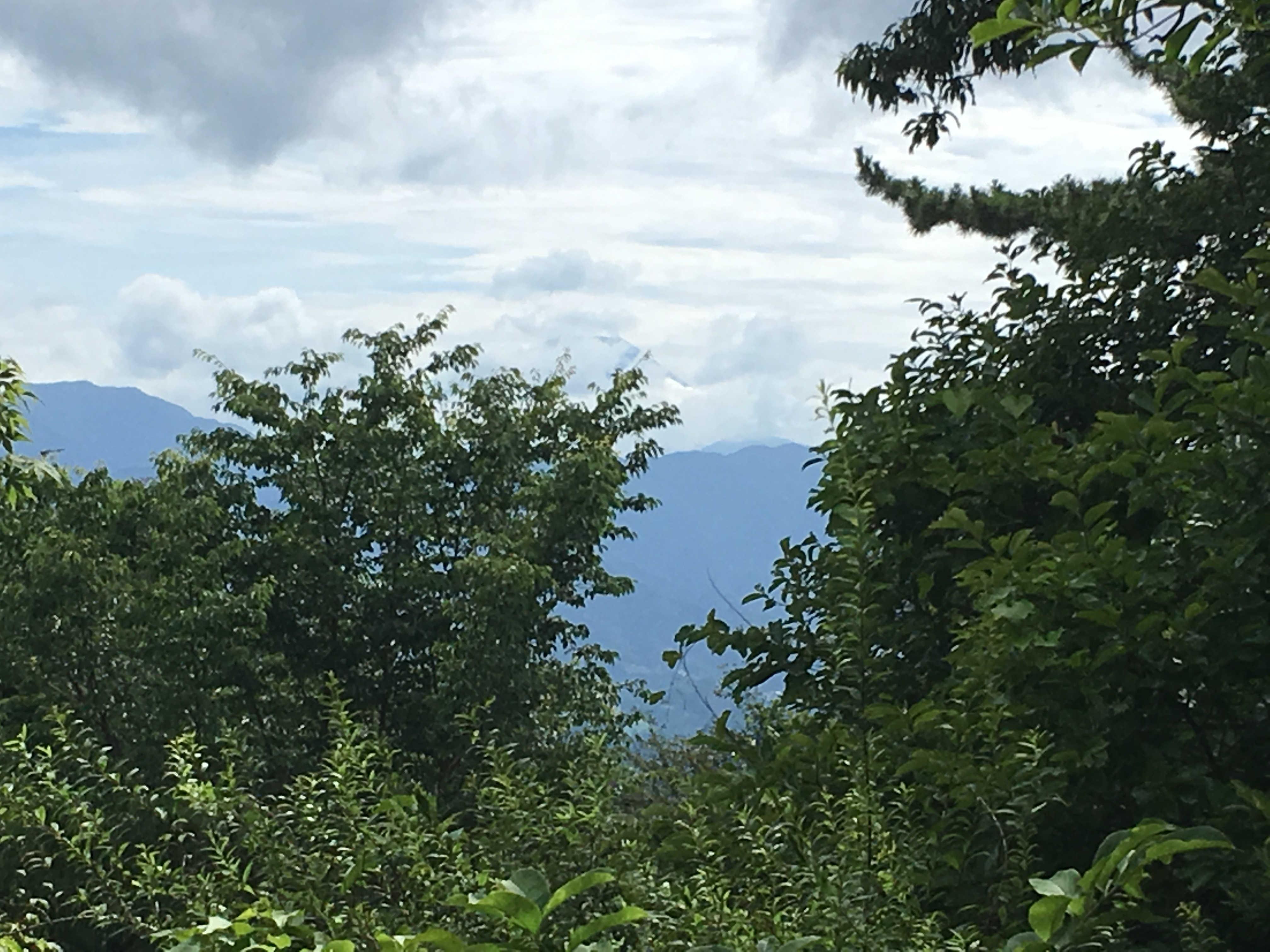小仏城山からの景観