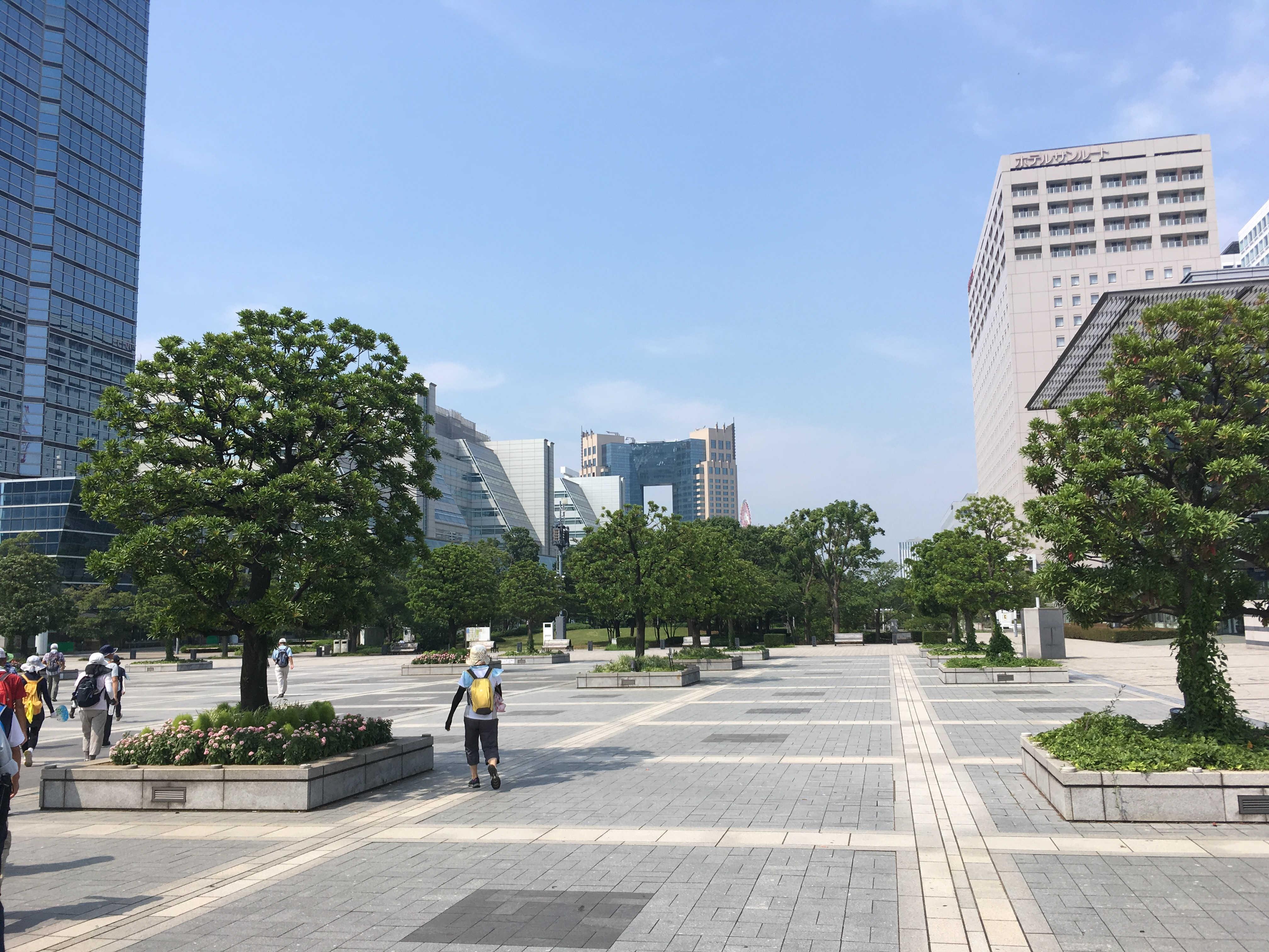 国際展示場駅前
