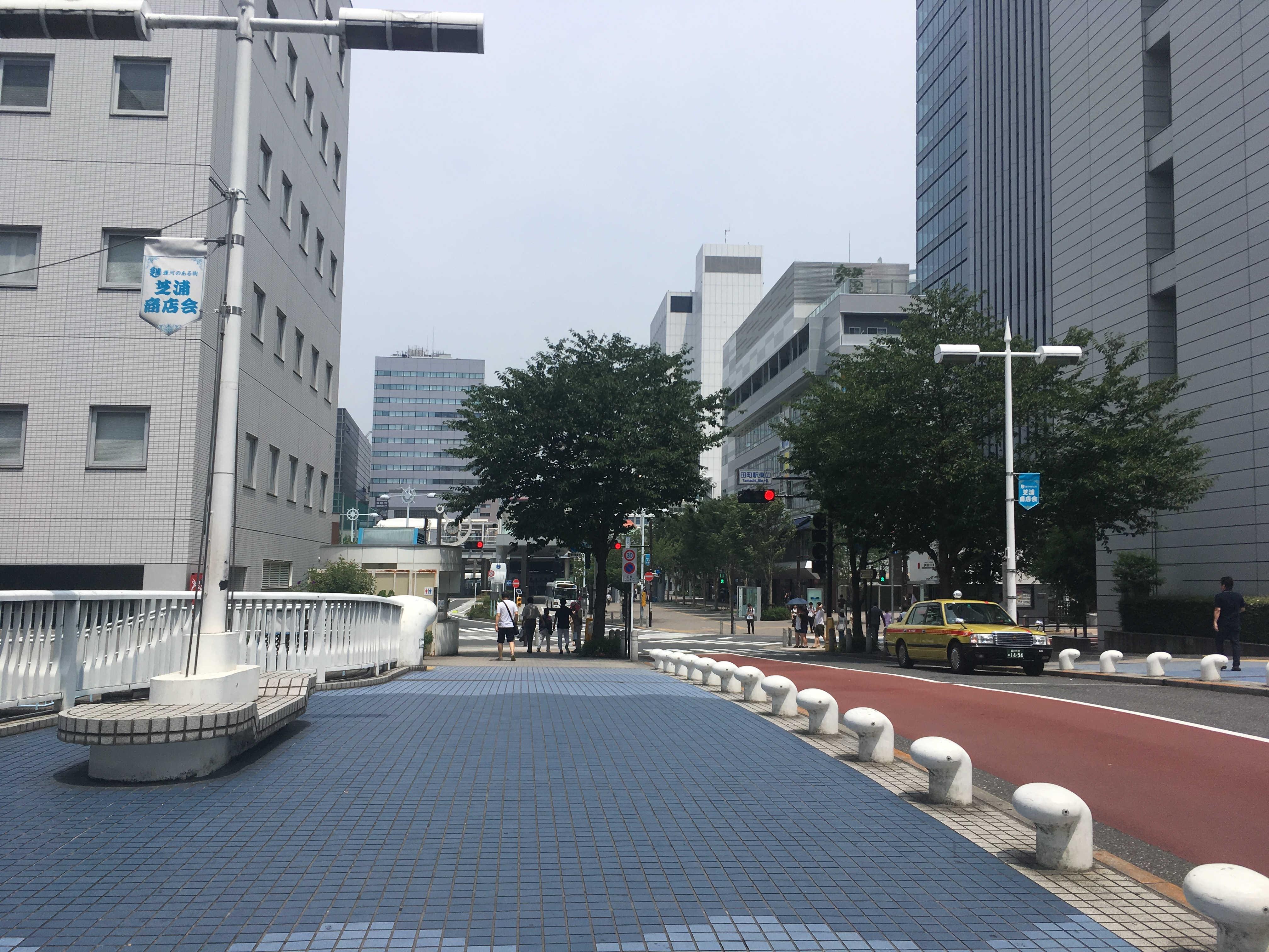 田町駅東口交差点
