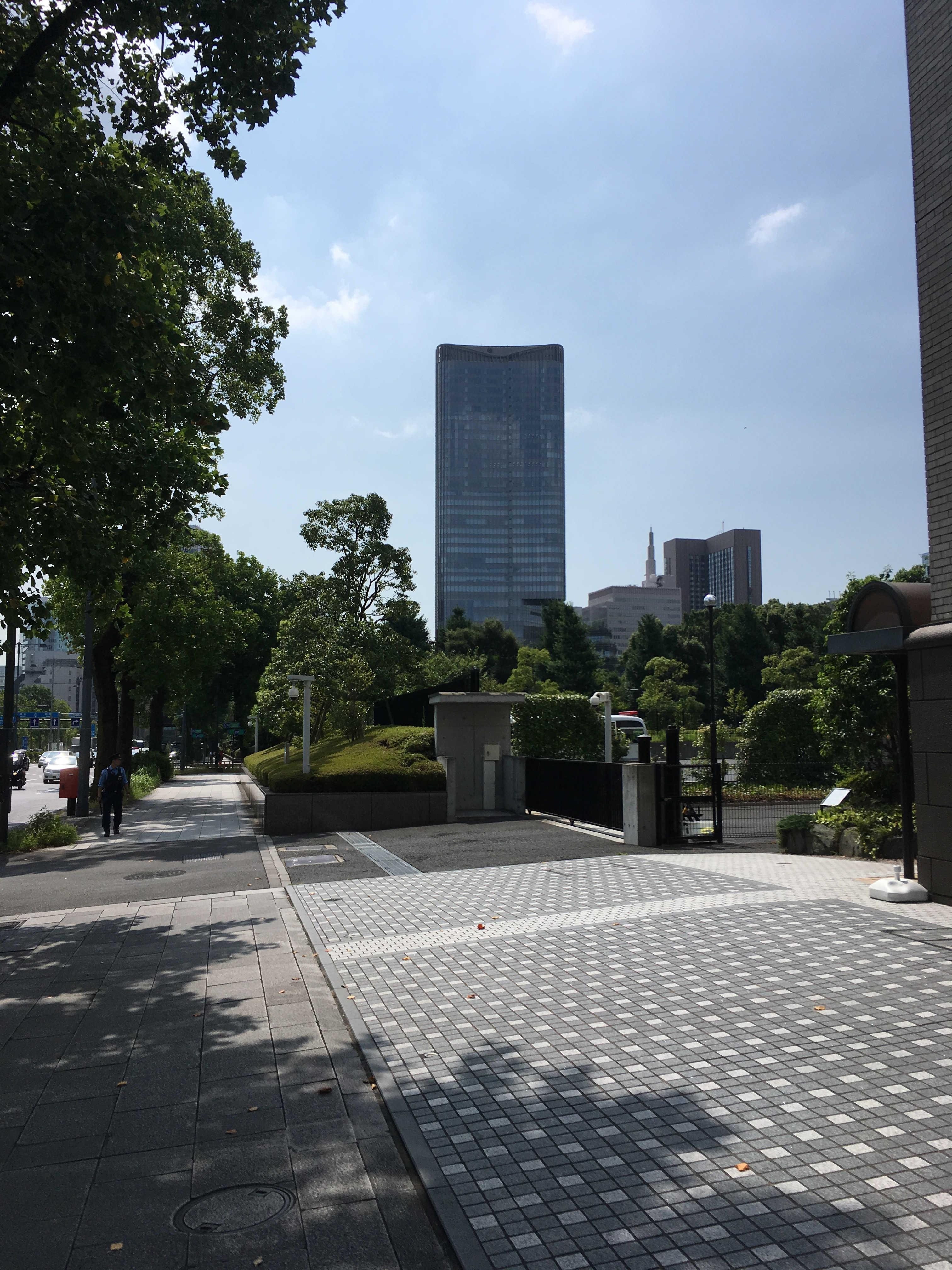 法曹会館から東京ミッドタウン日比谷