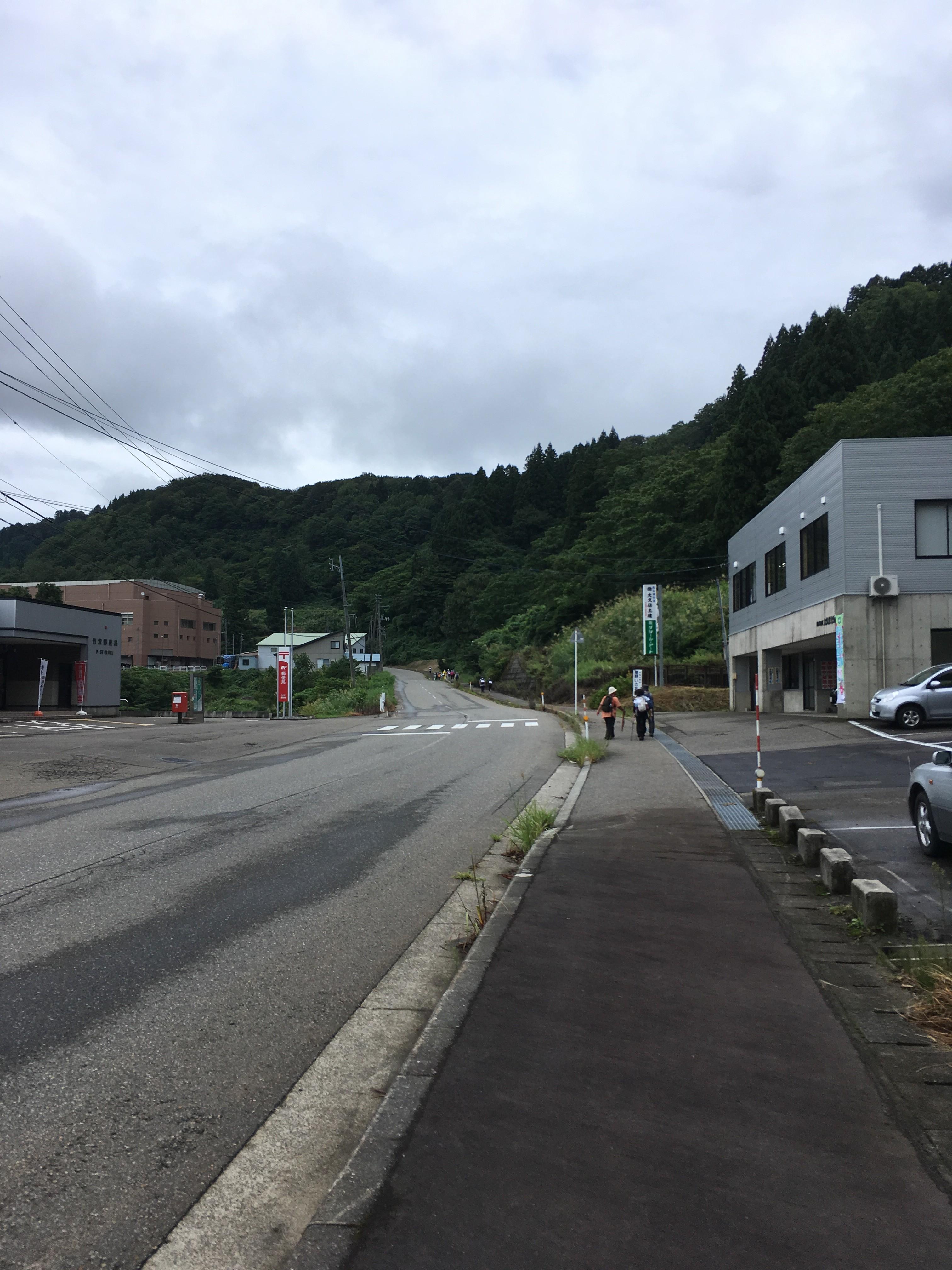 竹沢郵便局周辺