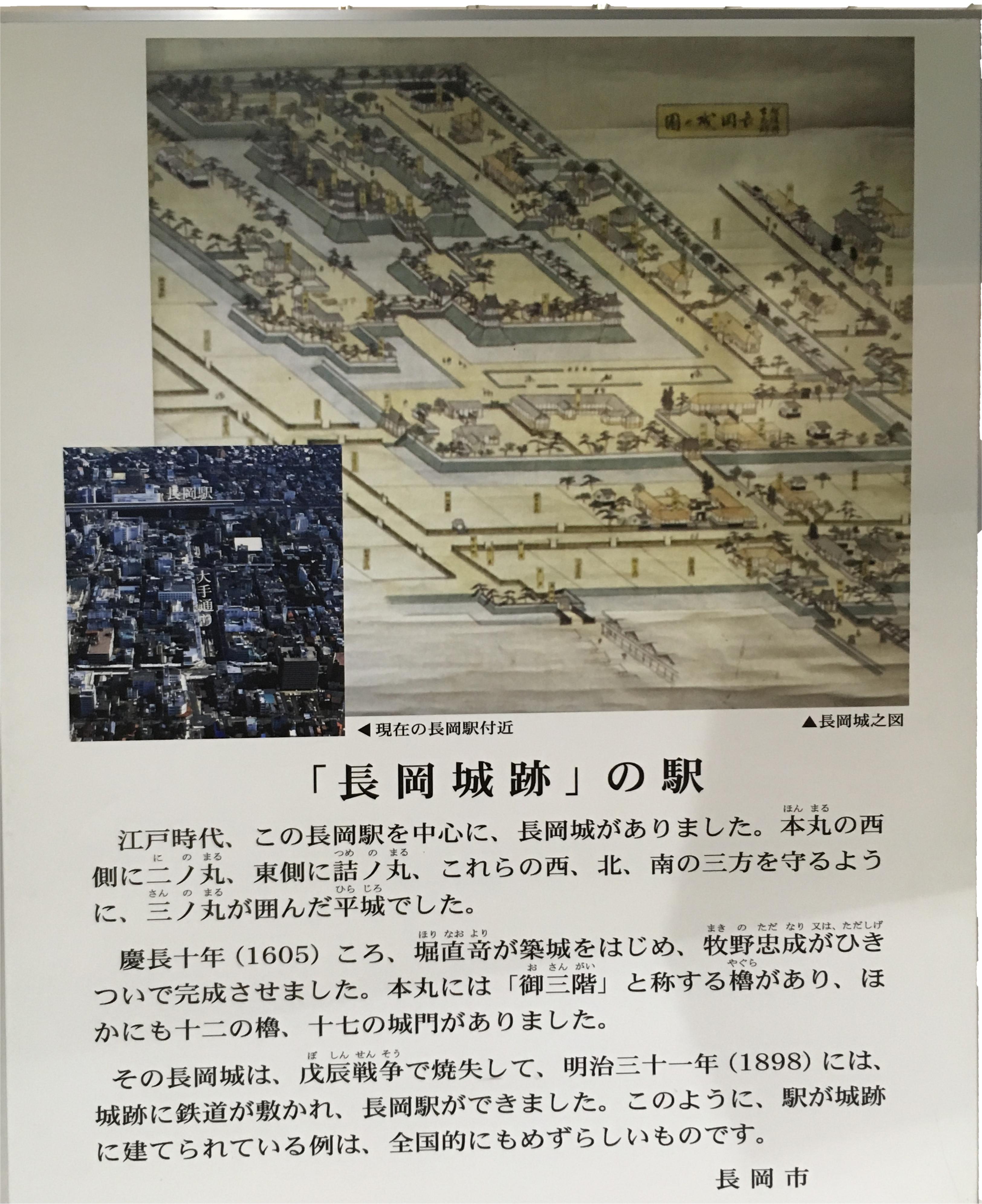 「長岡城」の駅