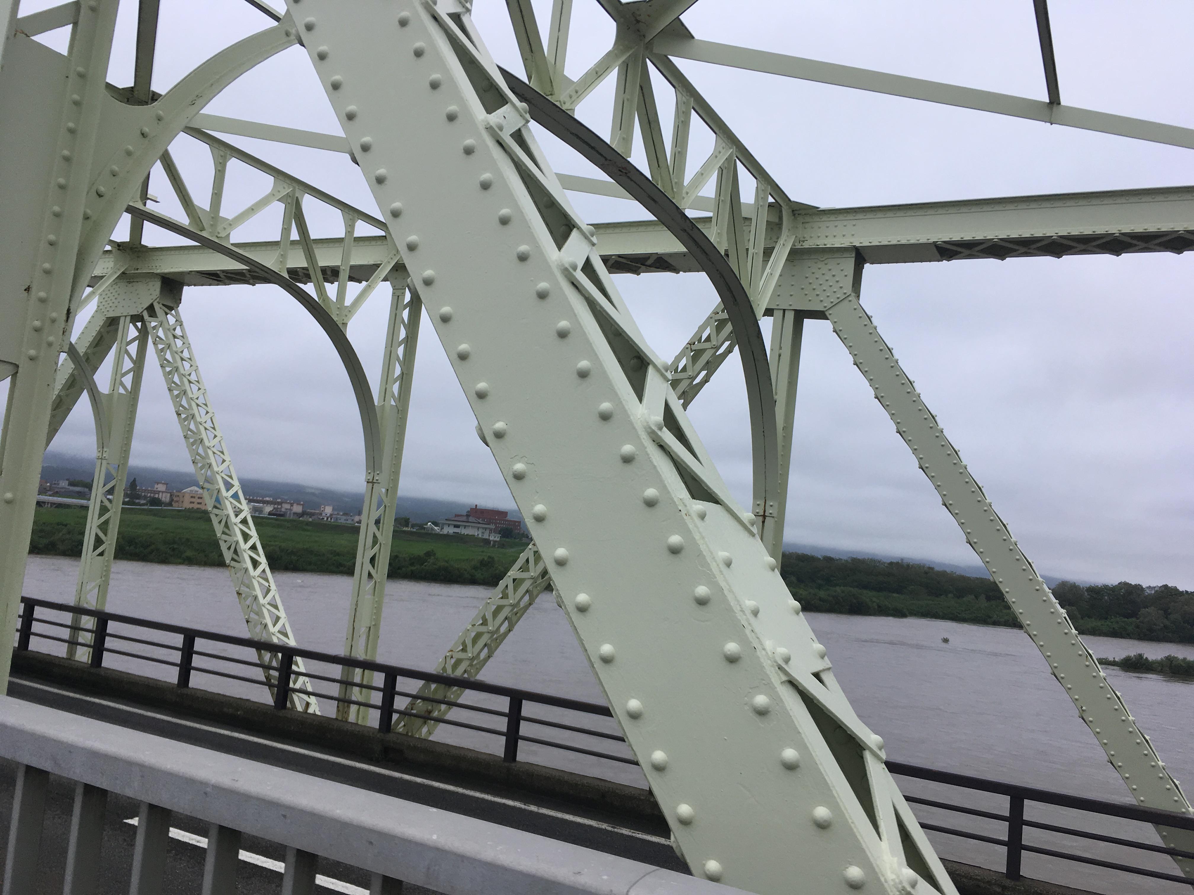 長生橋からの信濃川風景