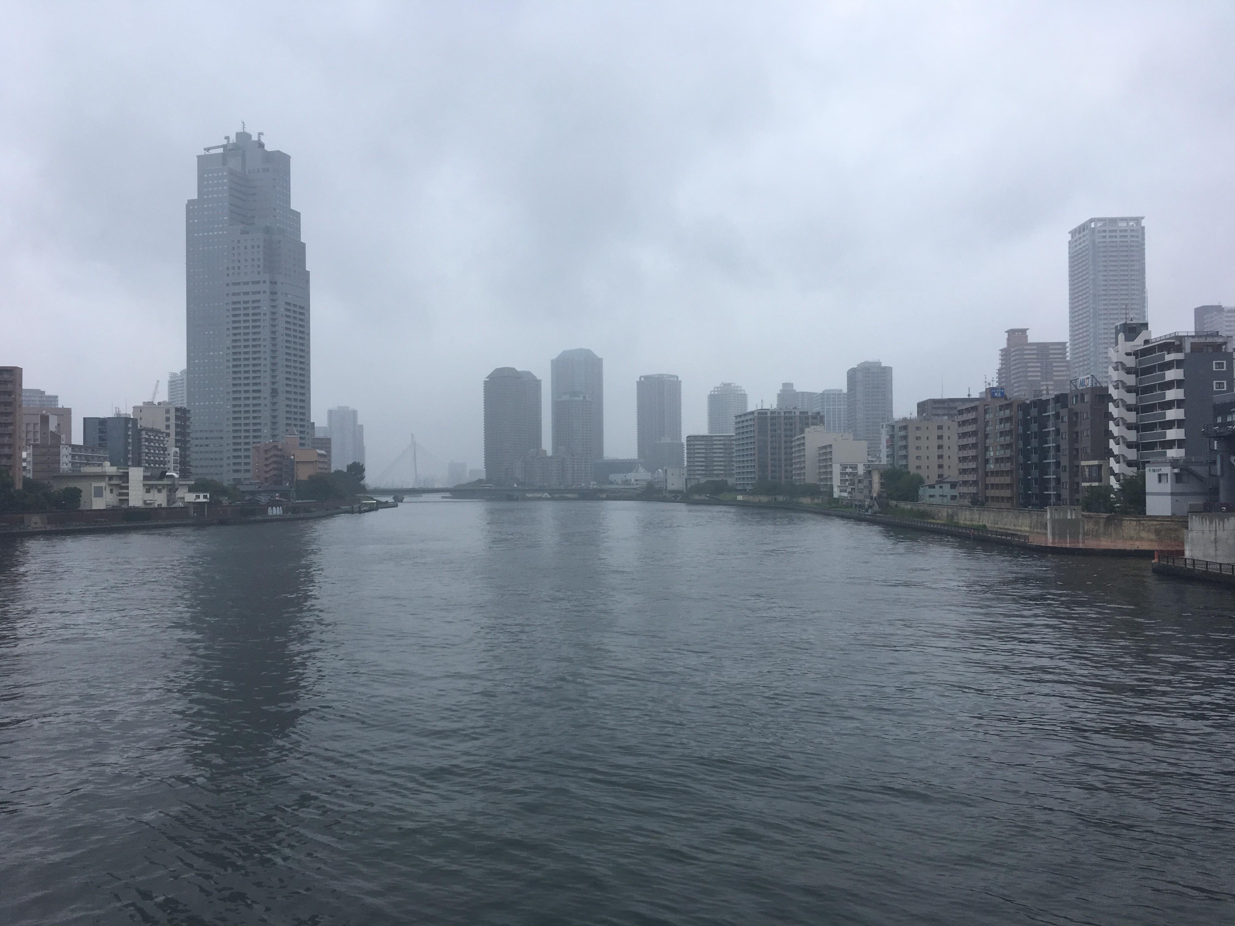 勝鬨橋からの風景
