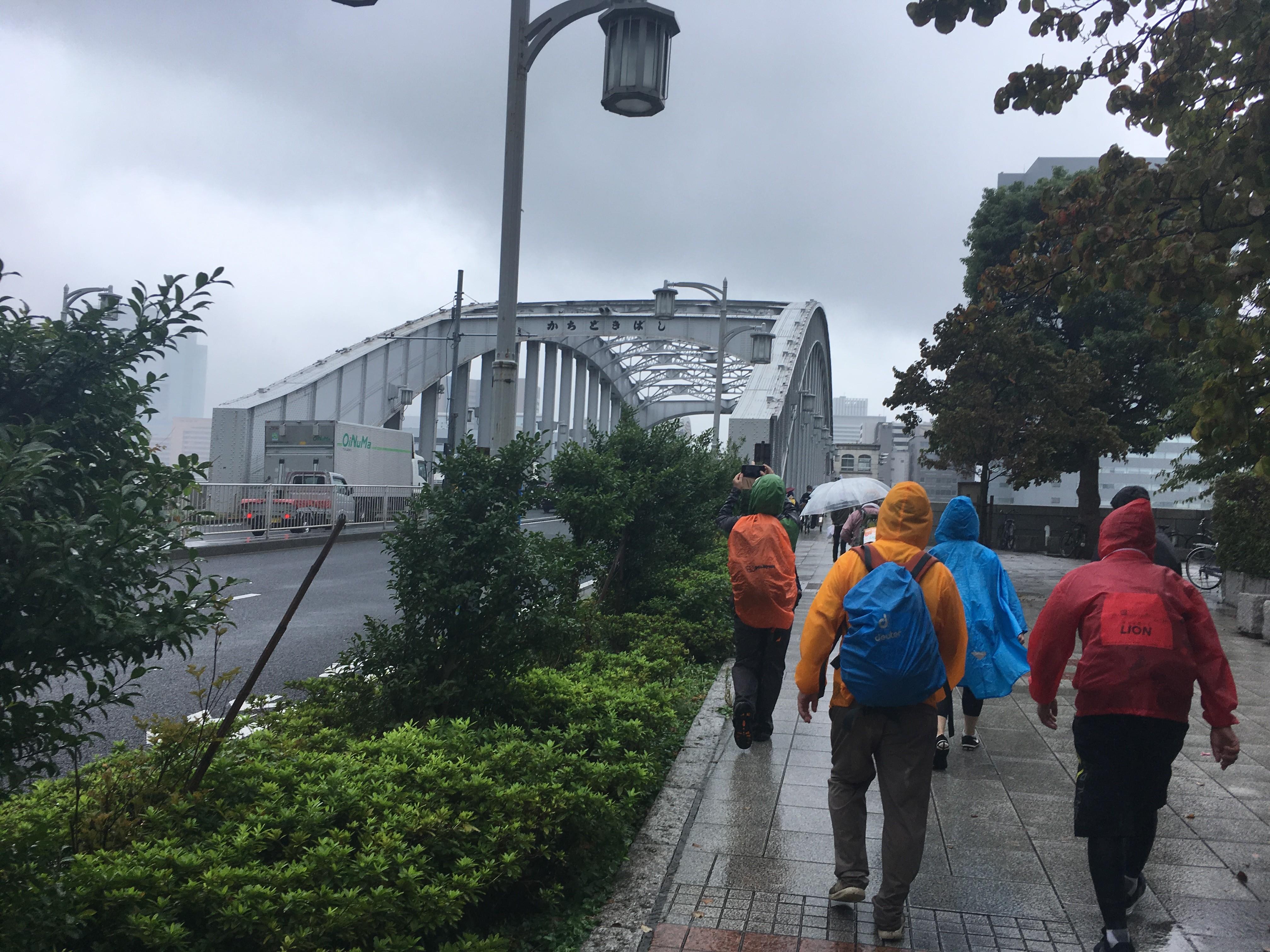 勝鬨橋周辺